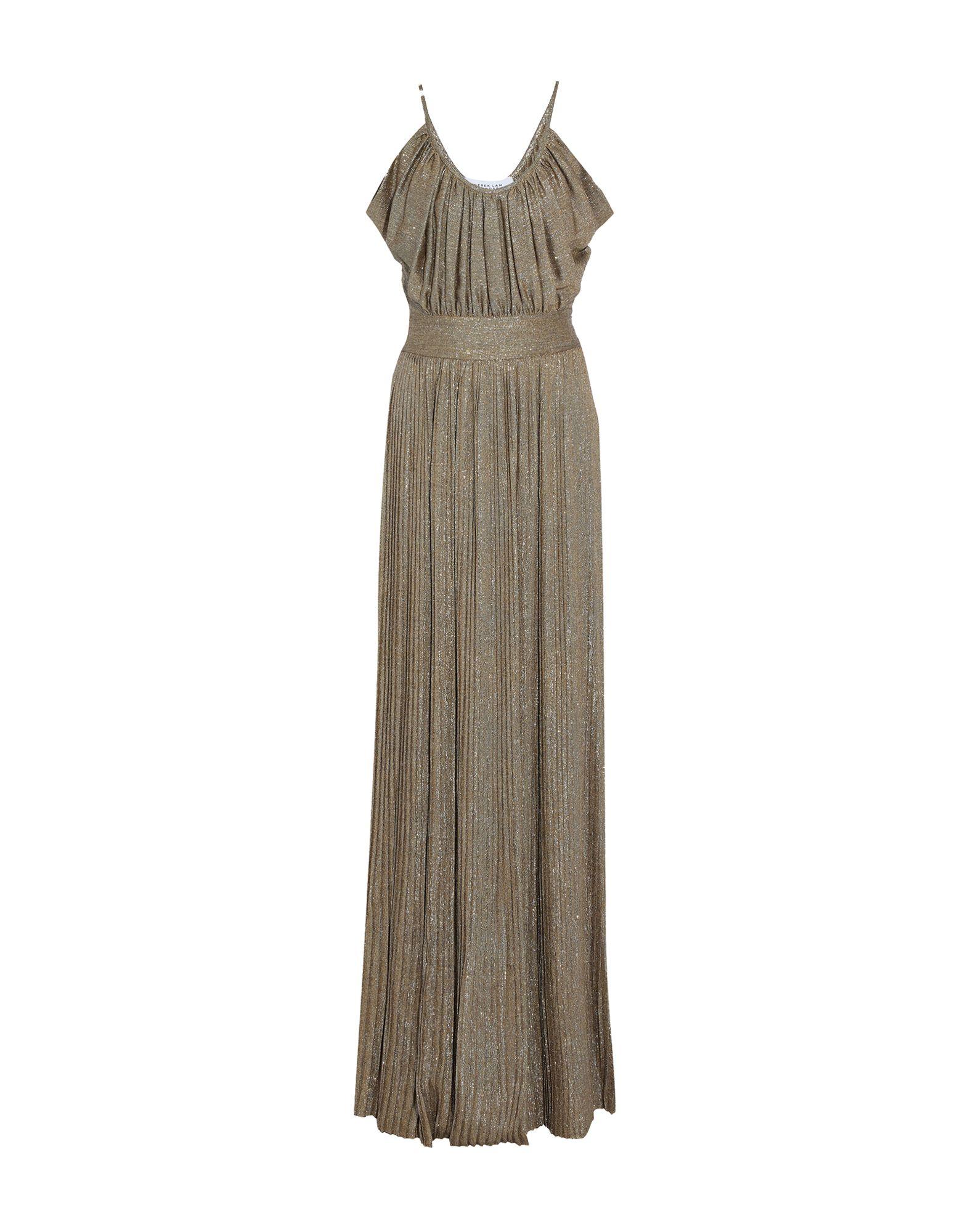 купить DEREK LAM 10 CROSBY Длинное платье по цене 42300 рублей