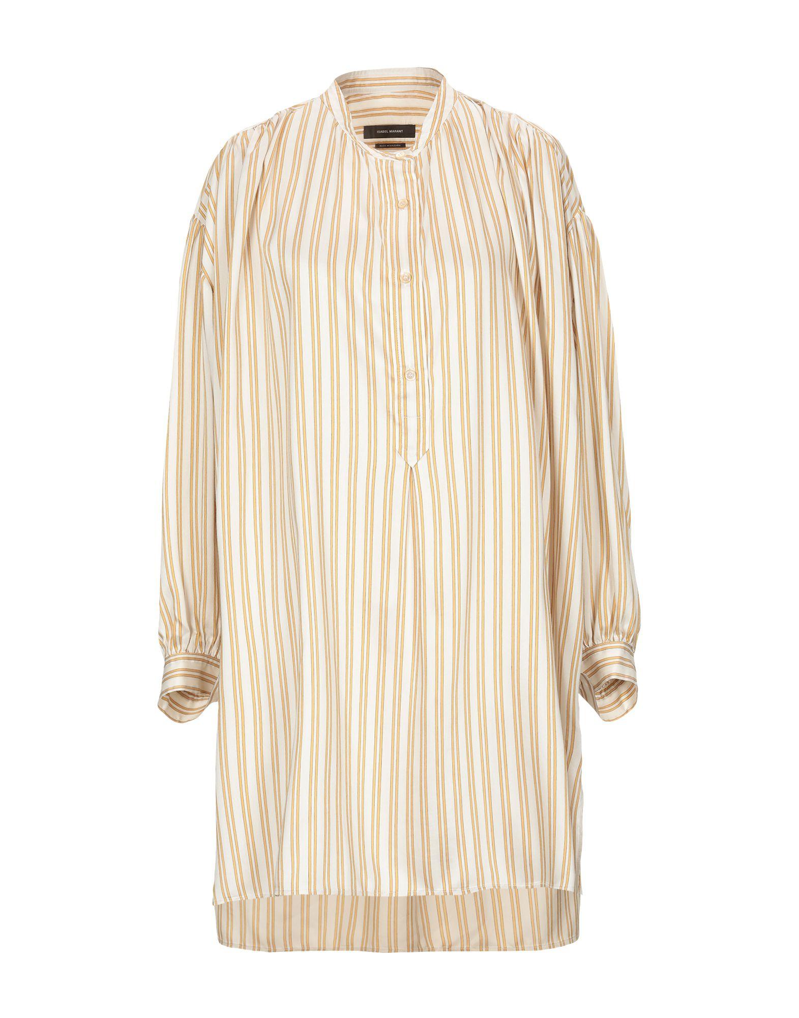 ISABEL MARANT Короткое платье рубашка isabel queen