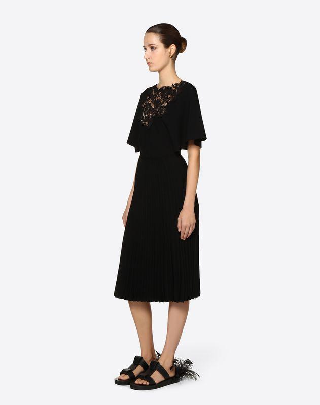 Платье из вискозы стрейч и кружева Heavy Lace