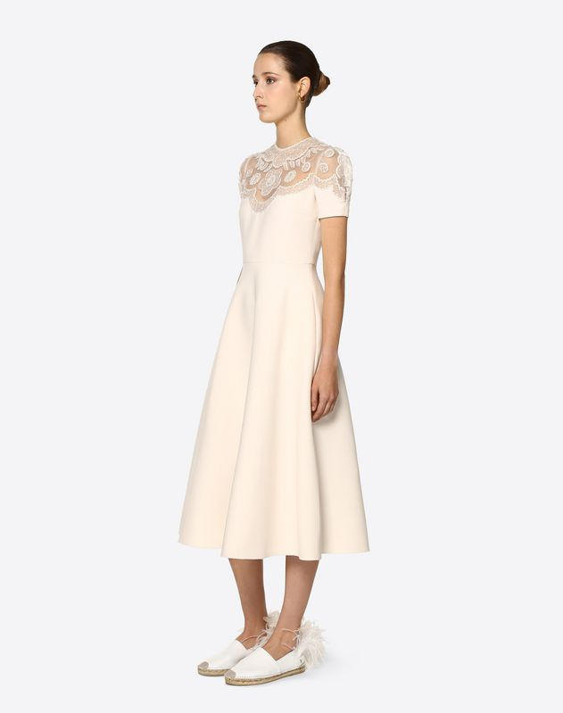 Embellished Crepe Couture, Organza and Tulle Dress