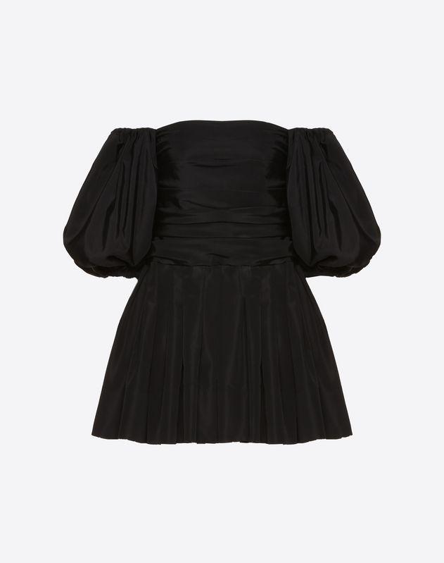 细罗缎连衣裙