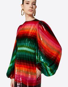 Bayadère Velvet Dress