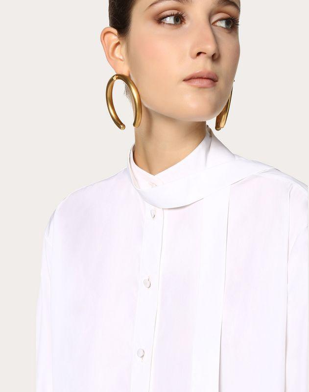 Plisseekleid aus Techno Popeline