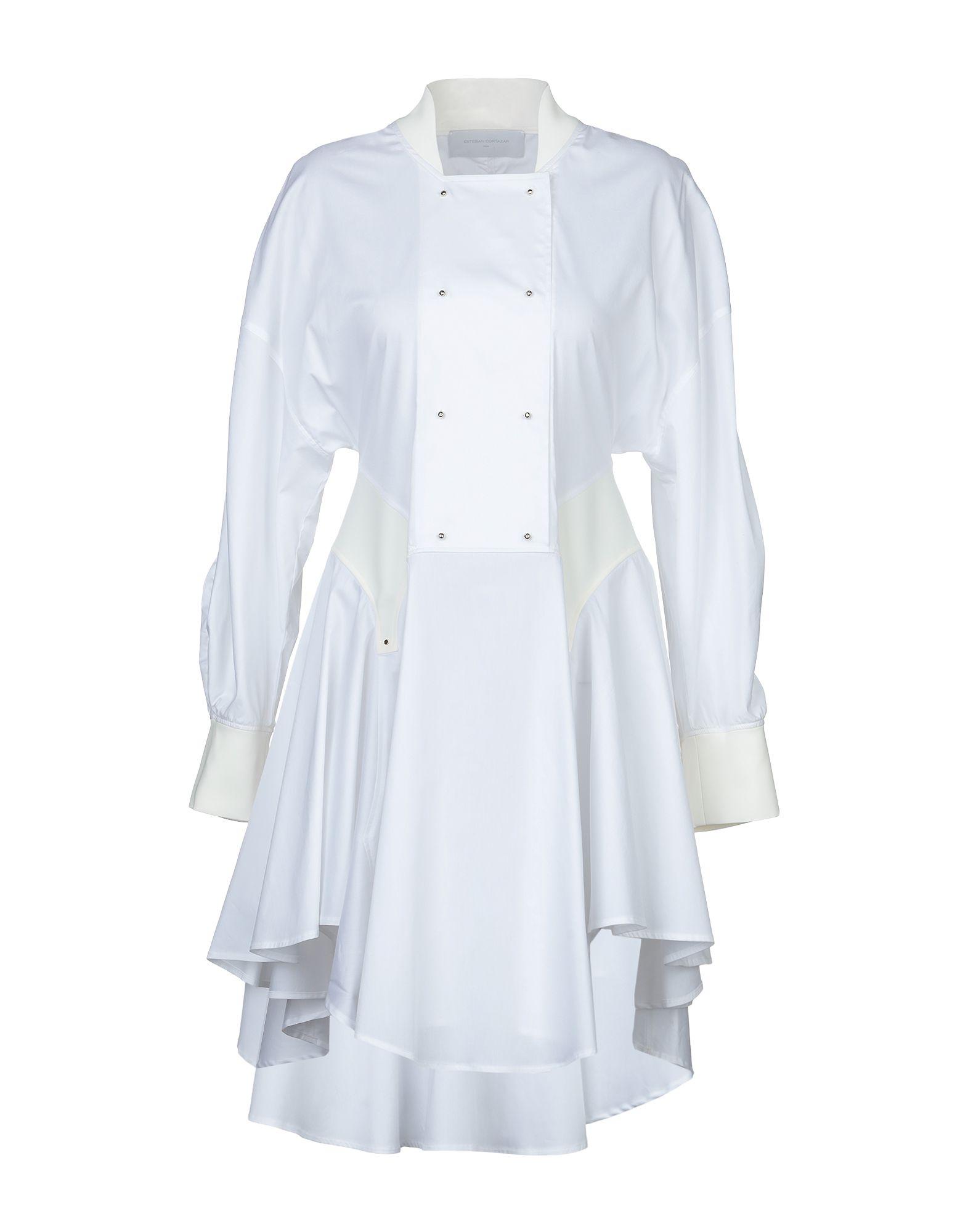 ESTEBAN CORTAZAR Короткое платье esteban cortazar однотонное платье