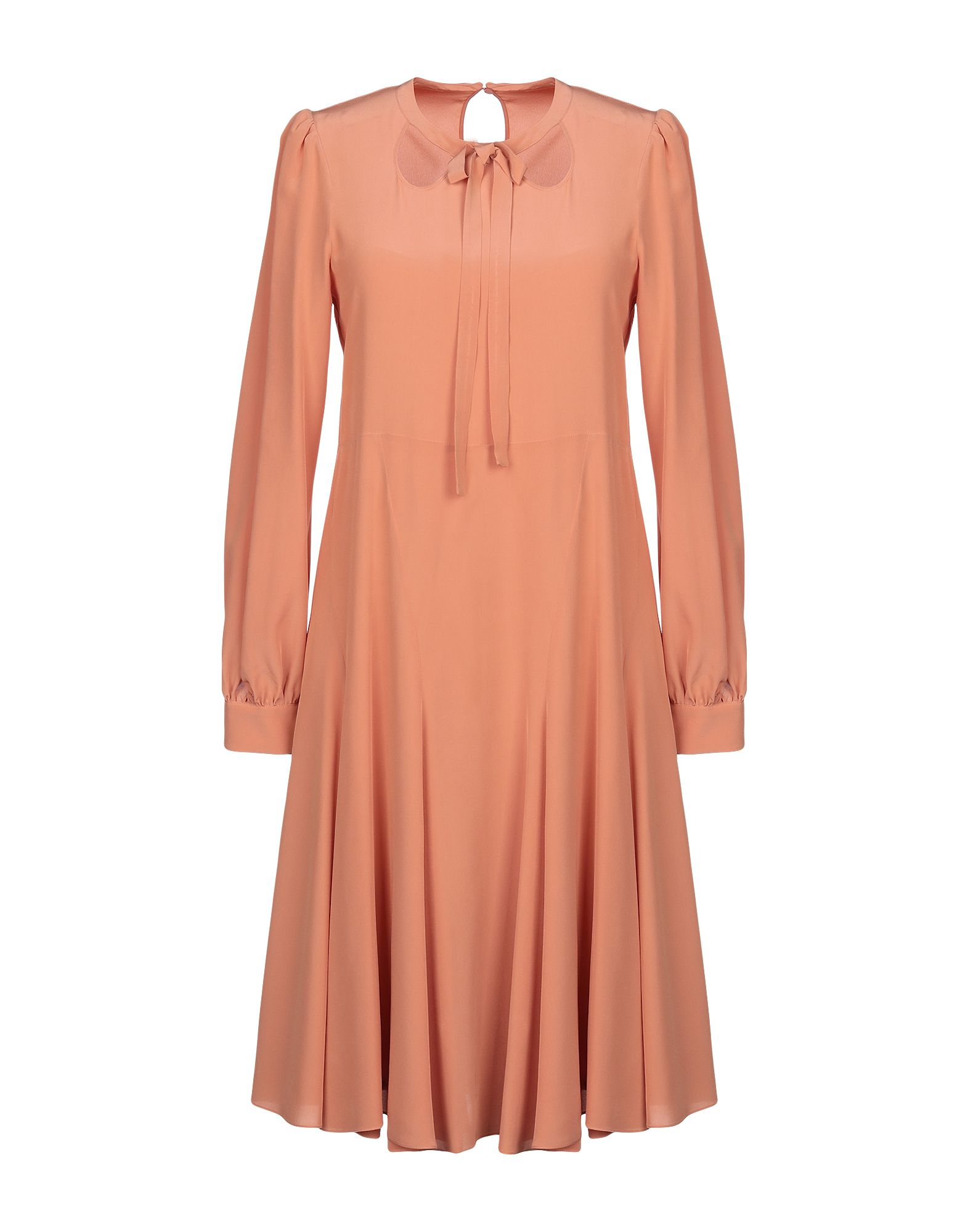 ROCHAS Платье до колена rochas шерстяное платье