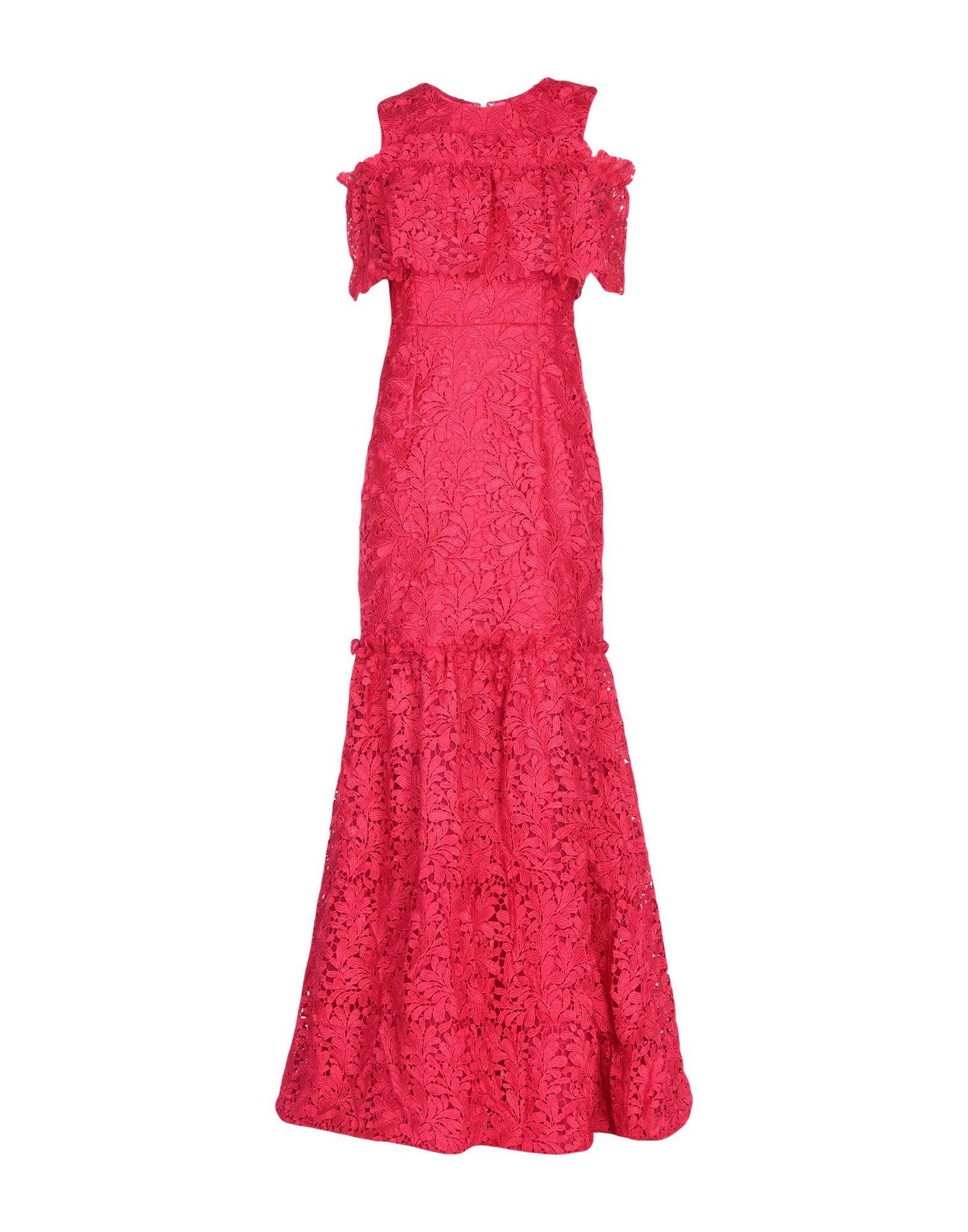 MONIQUE LHUILLIER Длинное платье