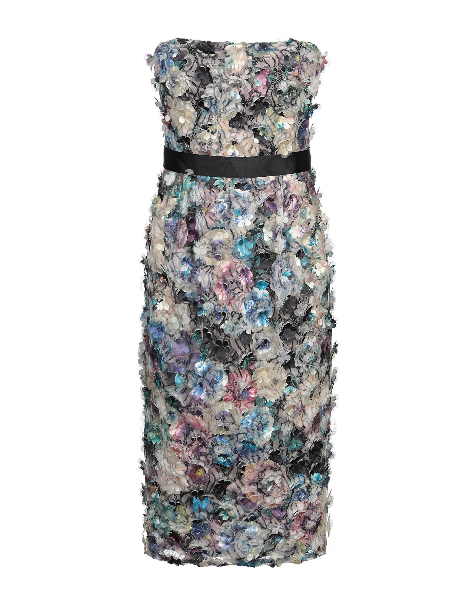 MONIQUE LHUILLIER Платье до колена