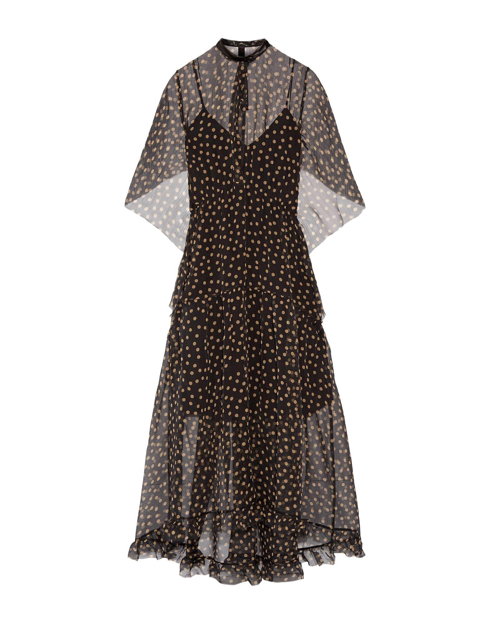 PETAR PETROV Платье длиной 3/4 petar petrov повседневные брюки