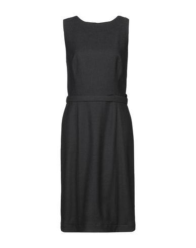 Фото - Платье до колена цвет стальной серый