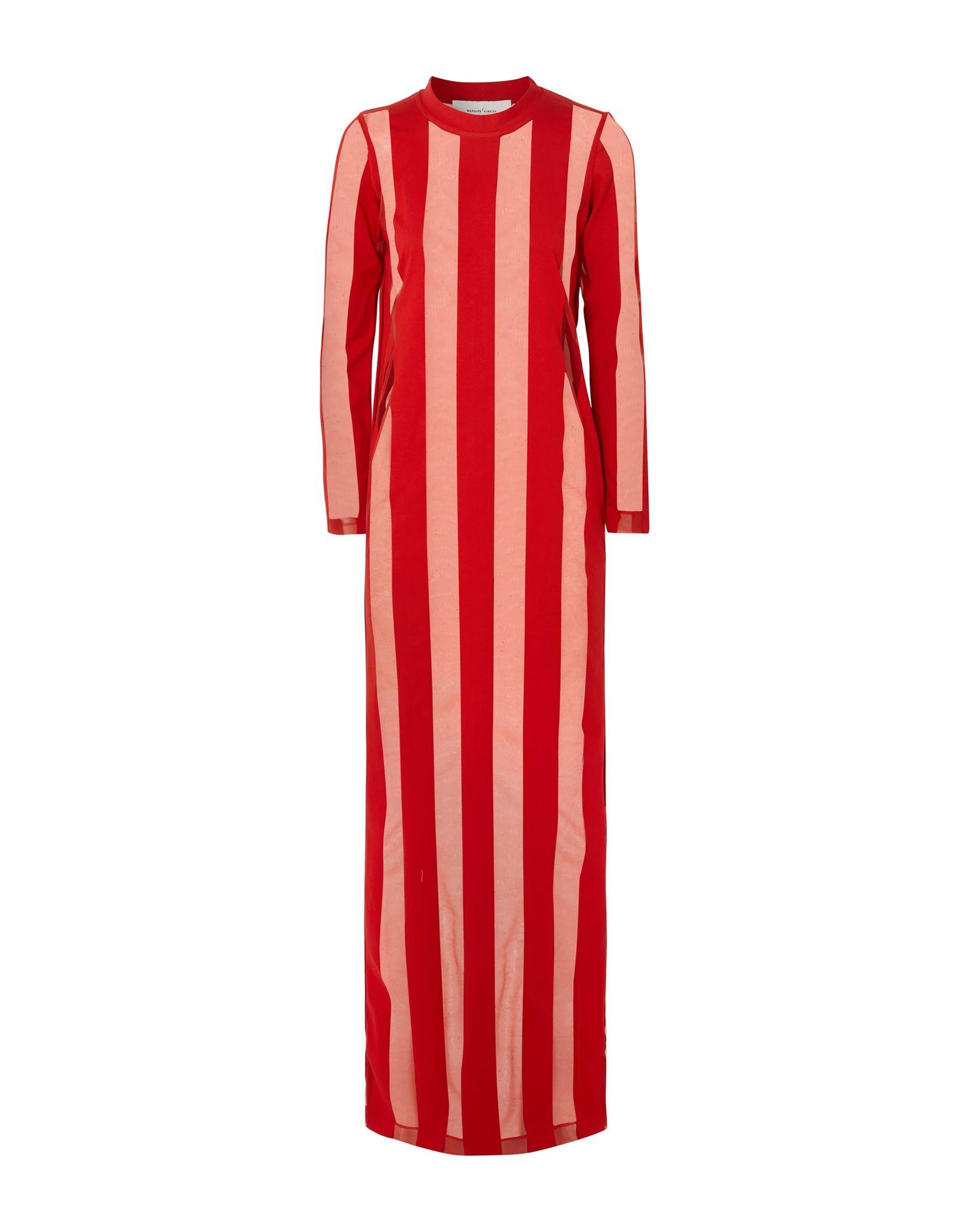 MARQUES' ALMEIDA Длинное платье
