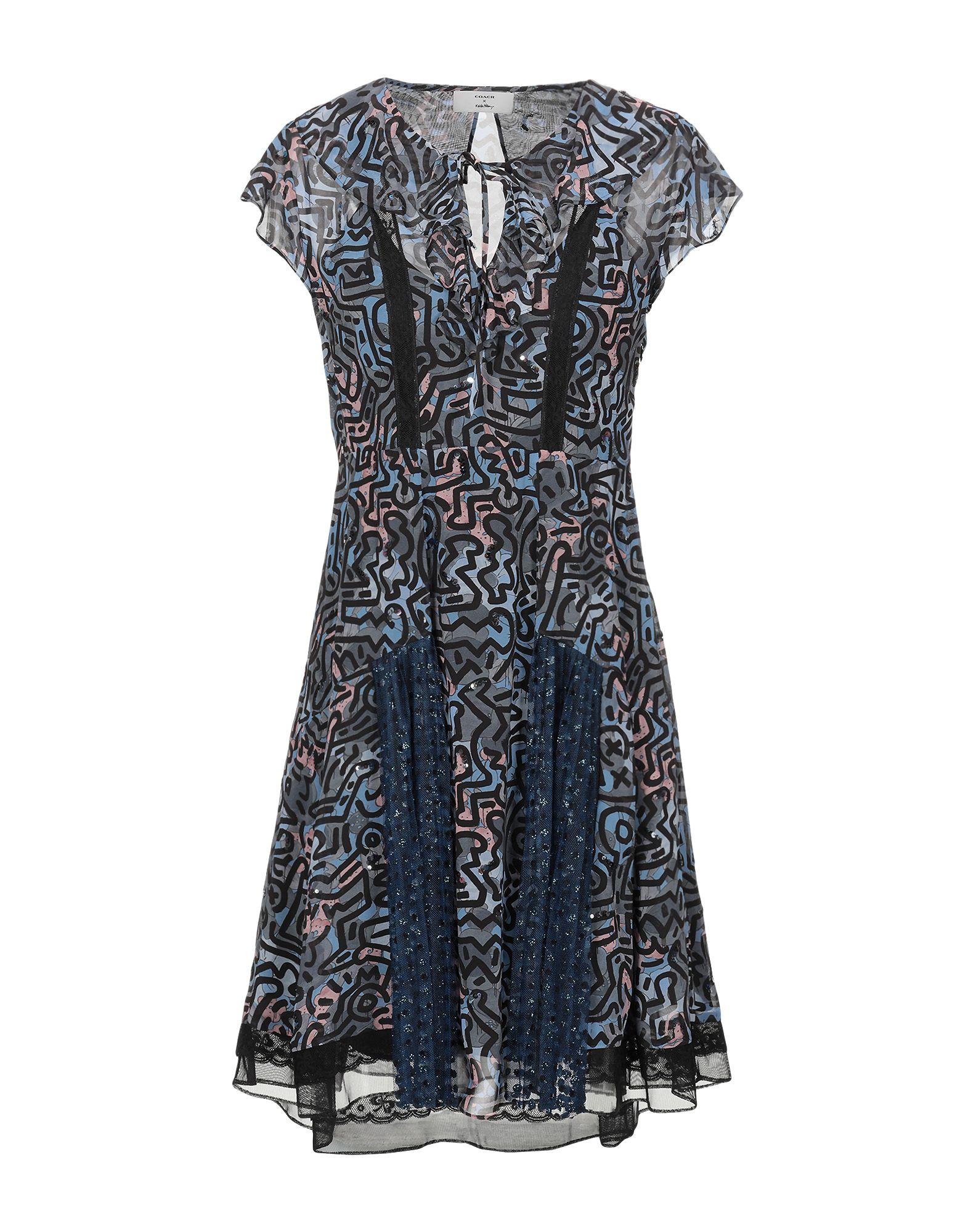 COACH x KEITH HARING Короткое платье цена и фото