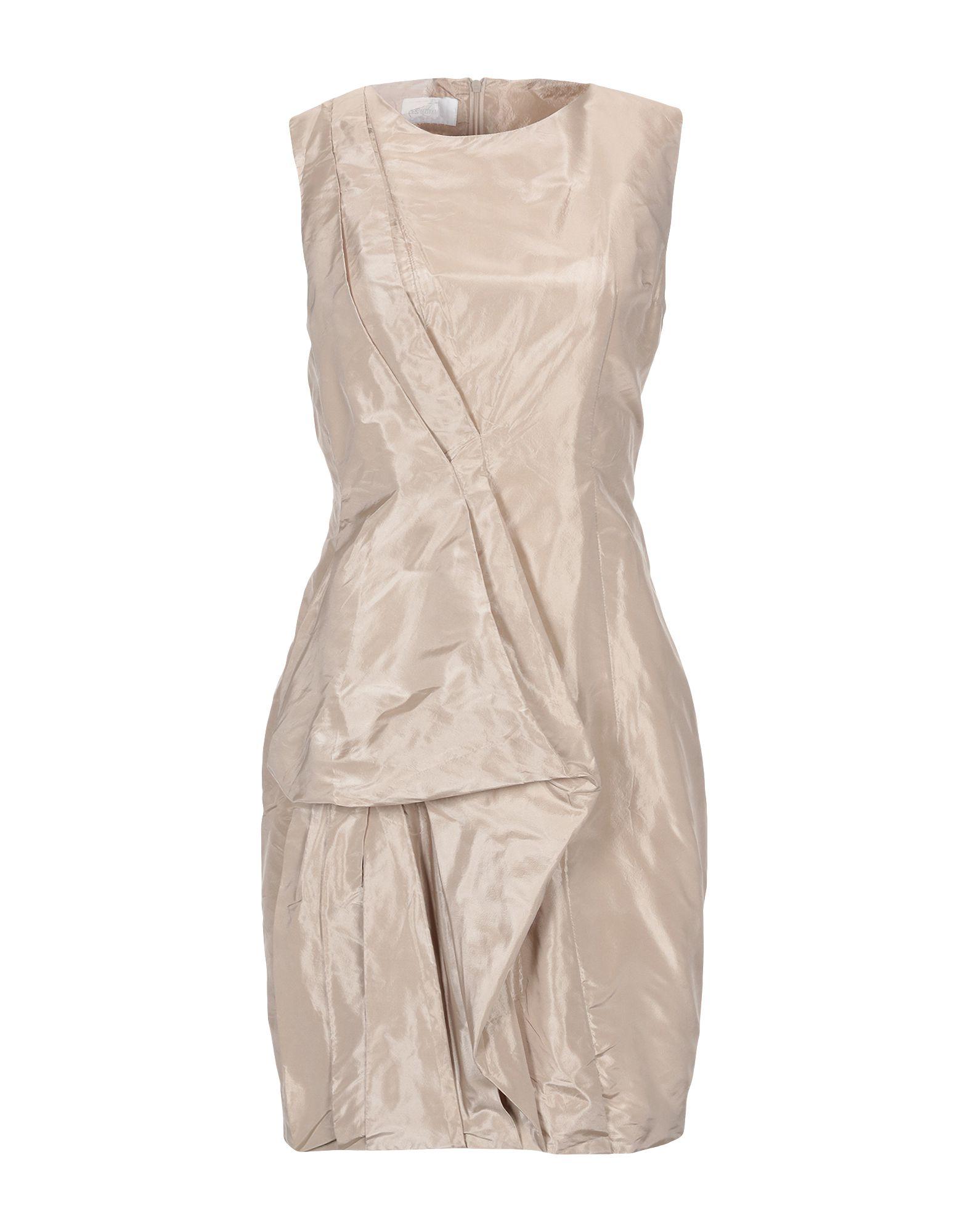 LES HOMMES - FEMME Короткое платье les hommes femme платье длиной 3 4