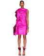 LANVIN Dress Woman TWO-TONED HOT PINK DRESS f