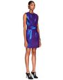 LANVIN Dress Woman IRIDESCENT AMETHYST FAILLE DRESS f