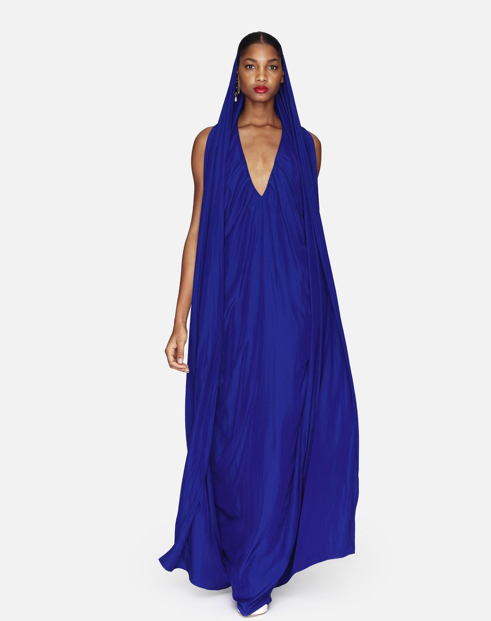 LONG SAPPHIRE DRESS - Lanvin