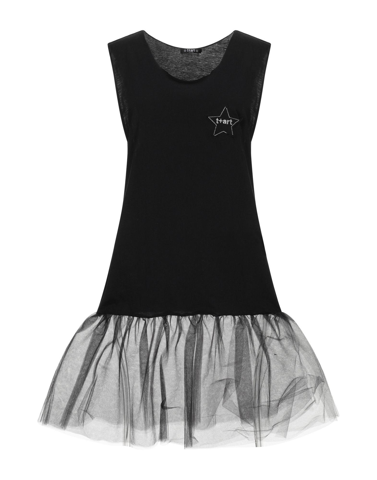T+ART Короткое платье t art блузка