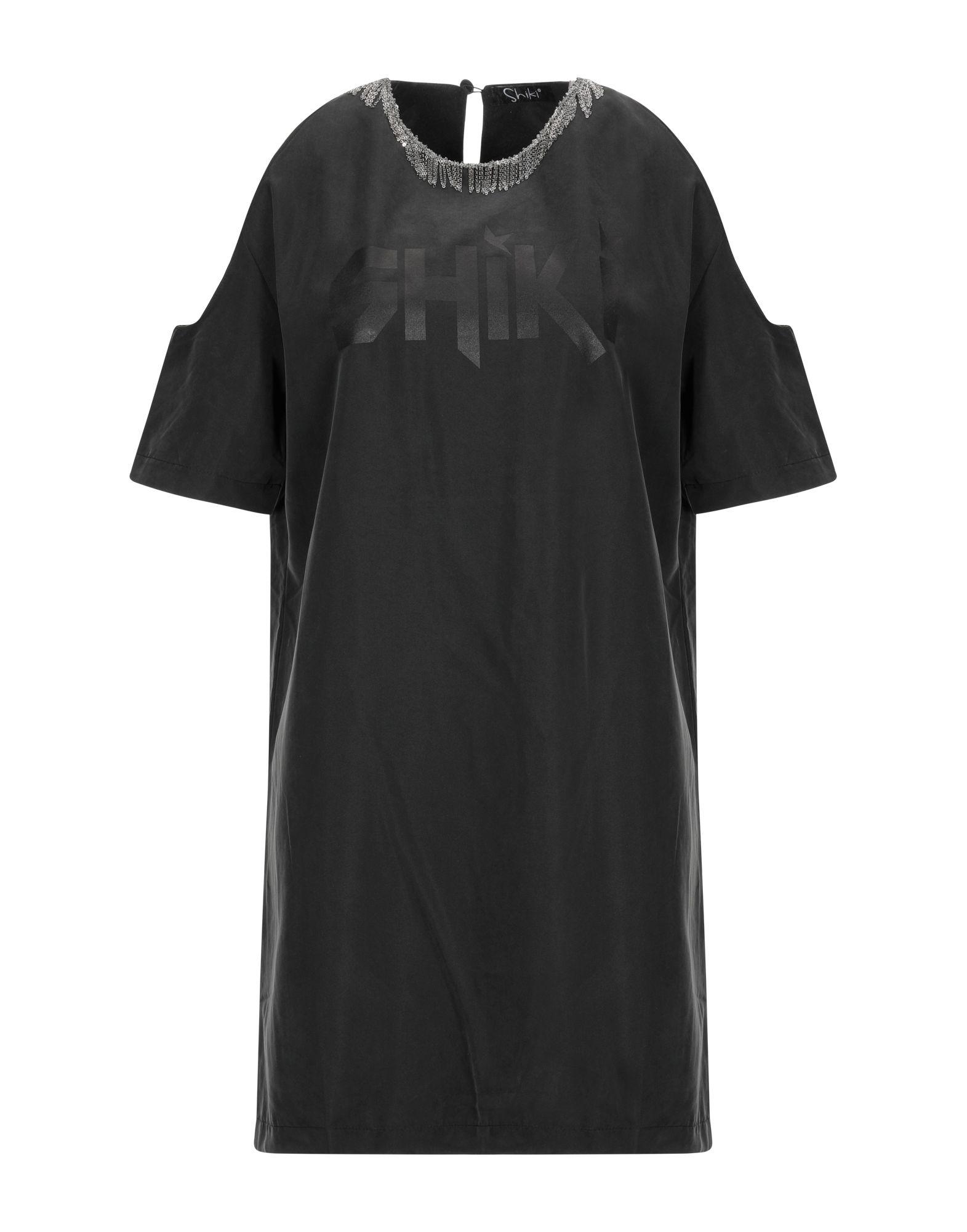 SHIKI Damen Kurzes Kleid Farbe Schwarz Größe 6