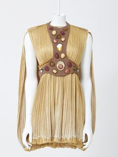 Grecian mini dress