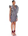 LANVIN Dress Woman IRIDESCENT SILK CHIFFON DRESS f