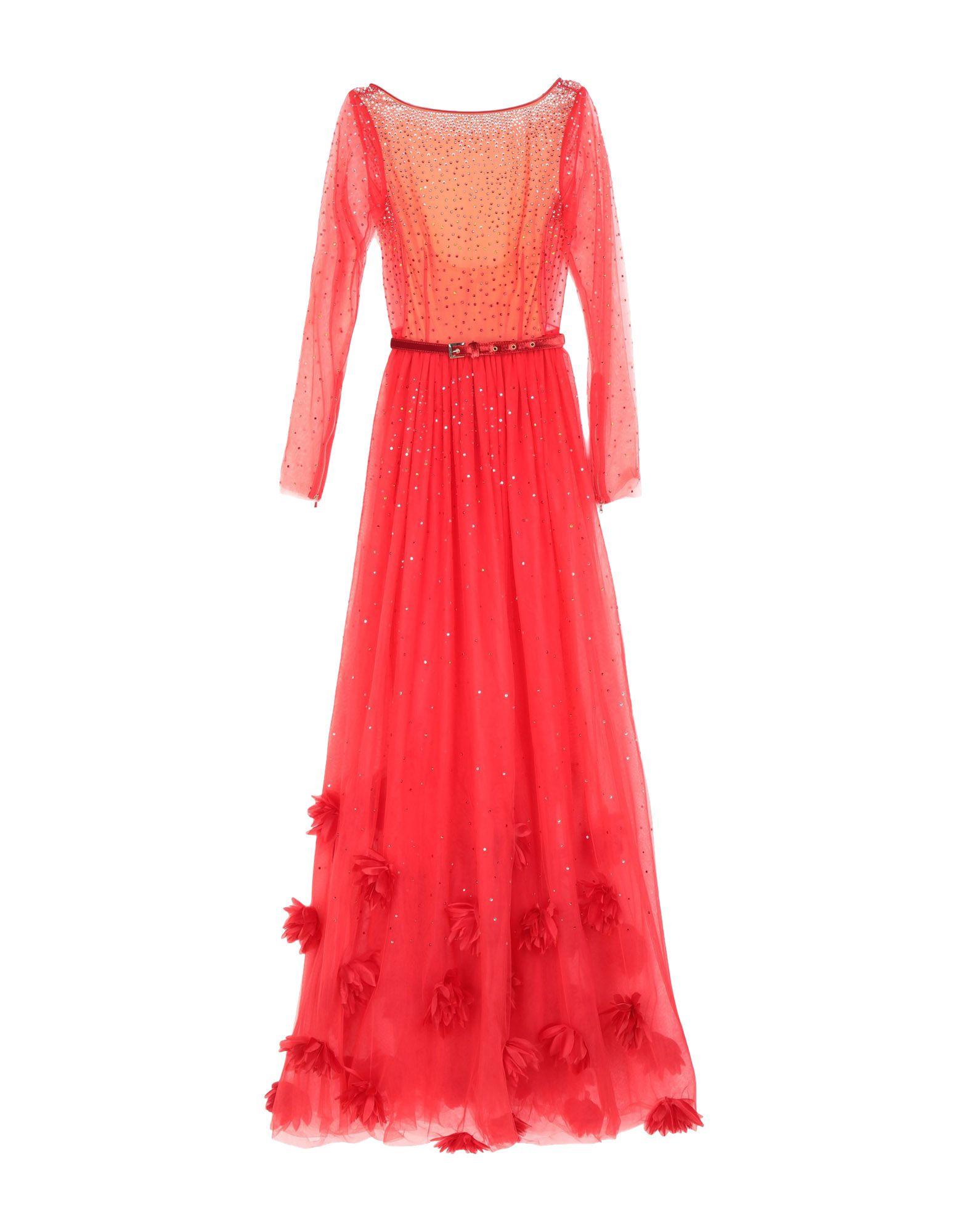 RAQUEL BALENCIA Длинное платье