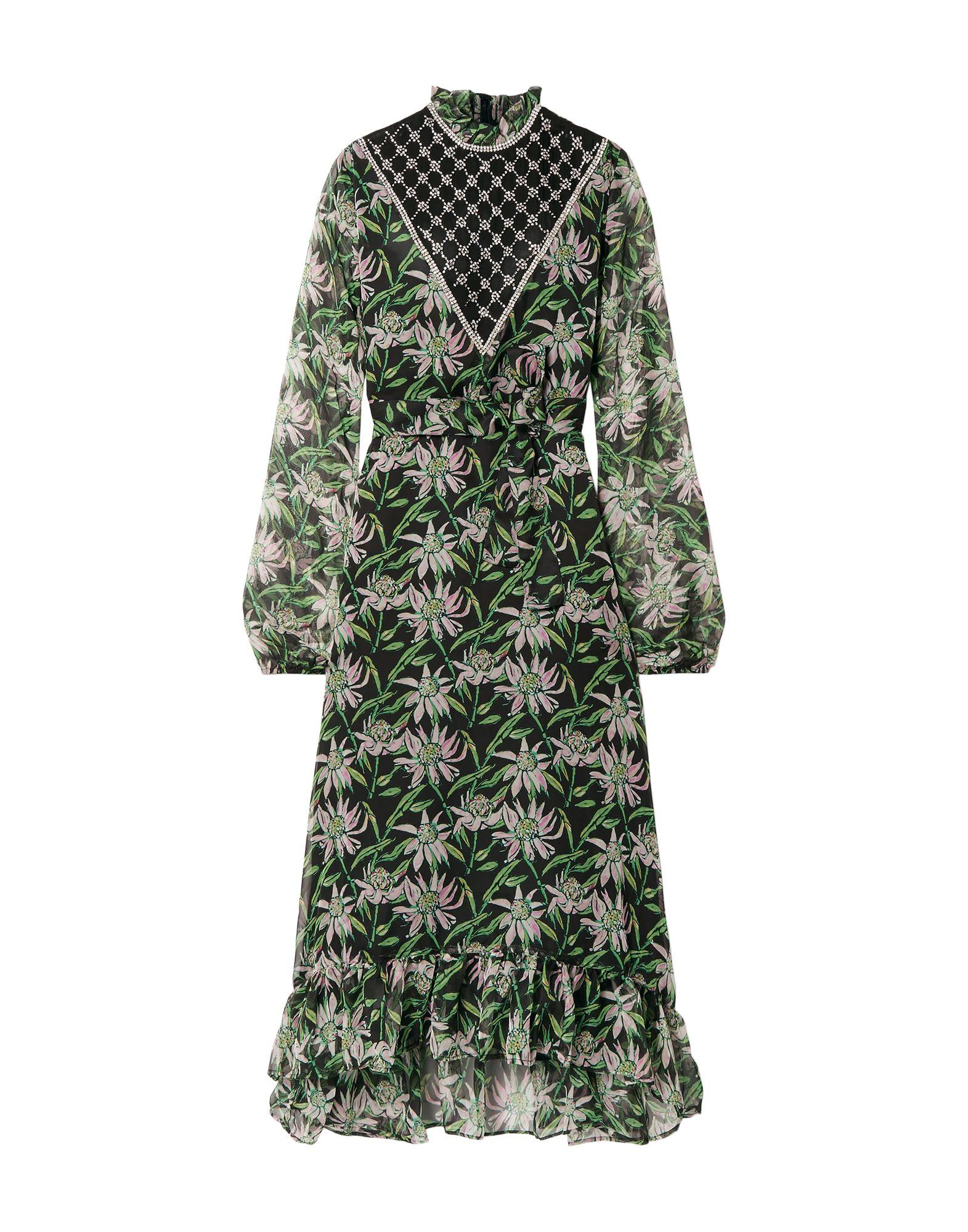PAS POUR TOI Длинное платье