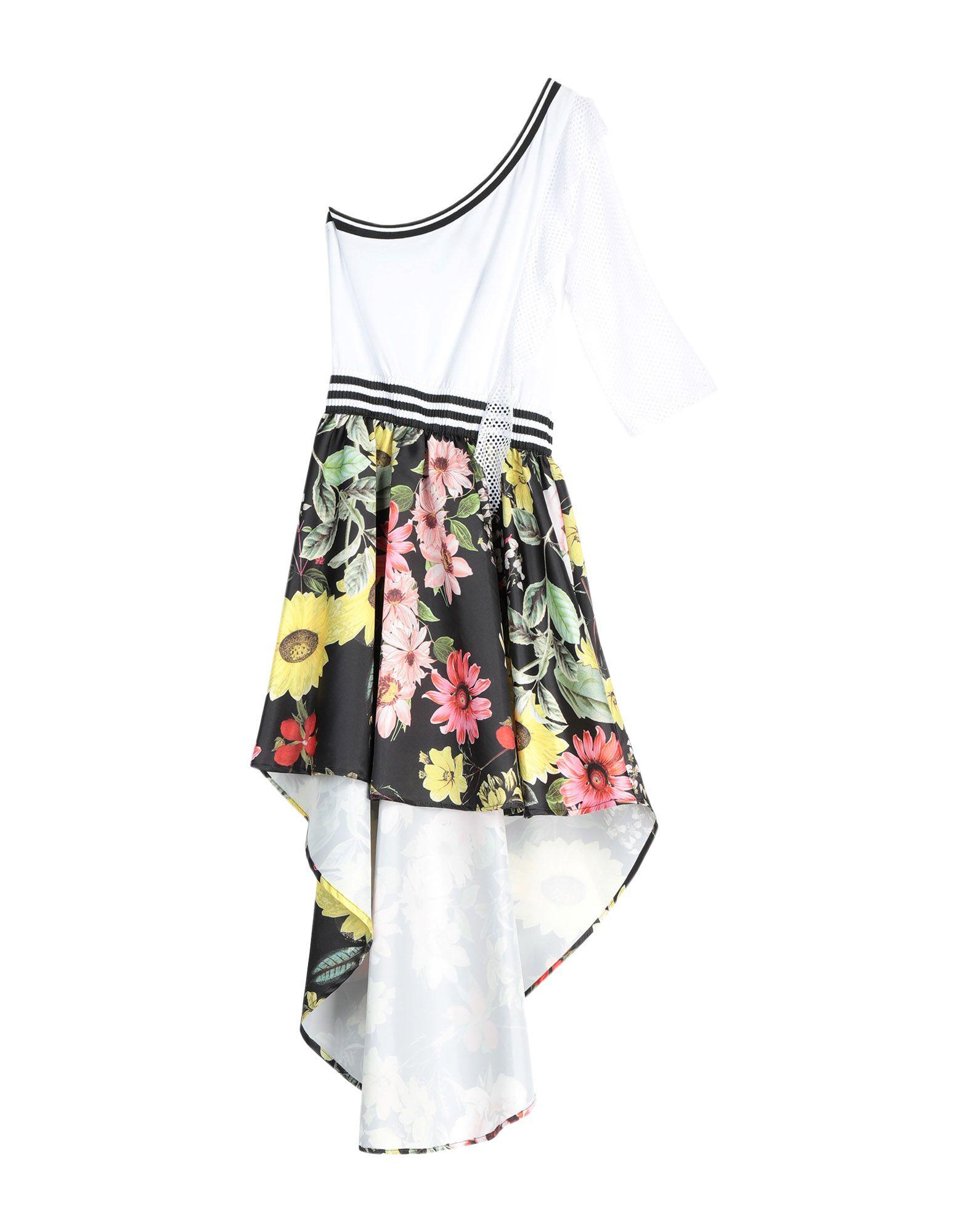 《送料無料》NA?CE レディース ミニワンピース&ドレス ホワイト XL ポリエステル 100%