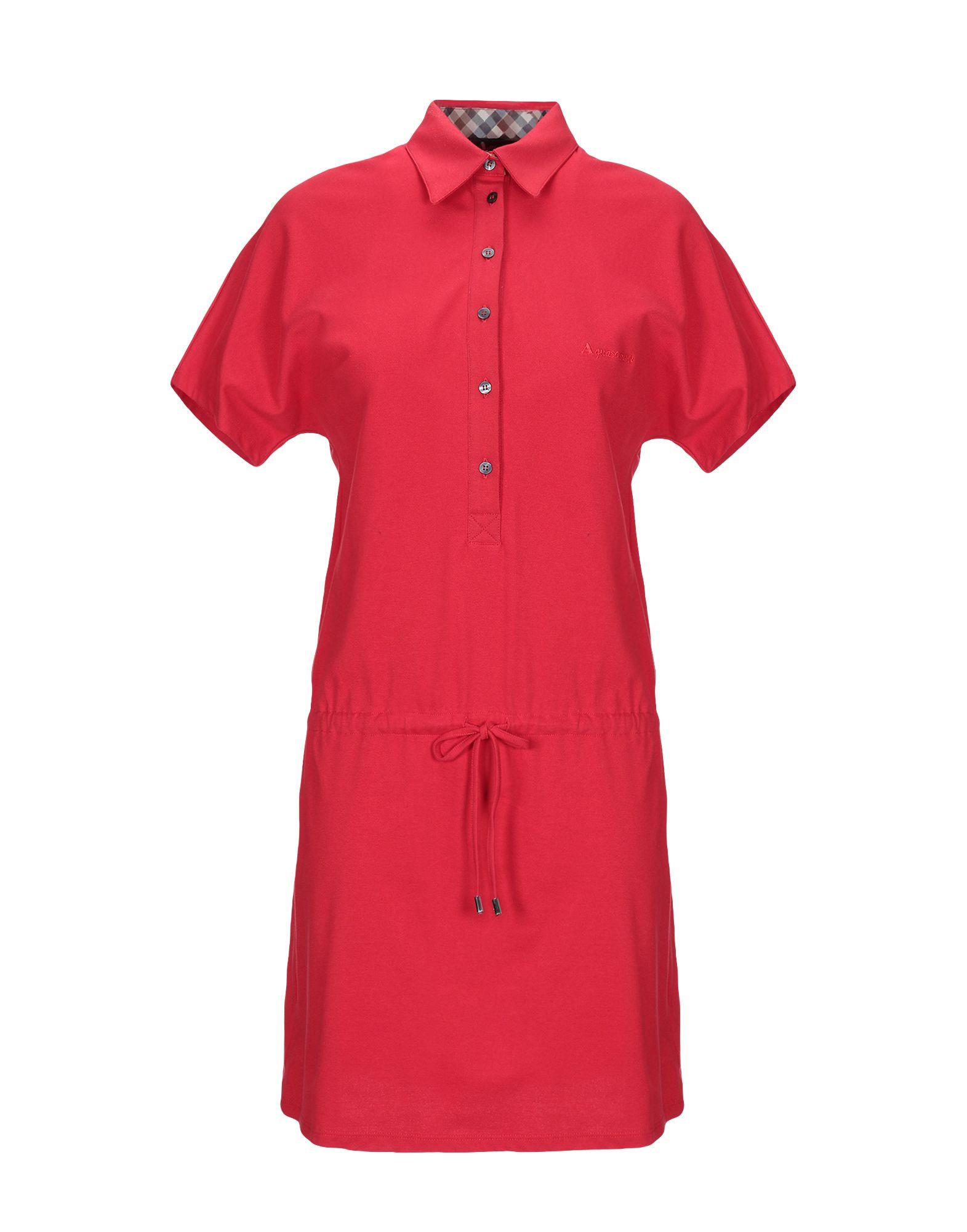 AQUASCUTUM Короткое платье aquascutum платок