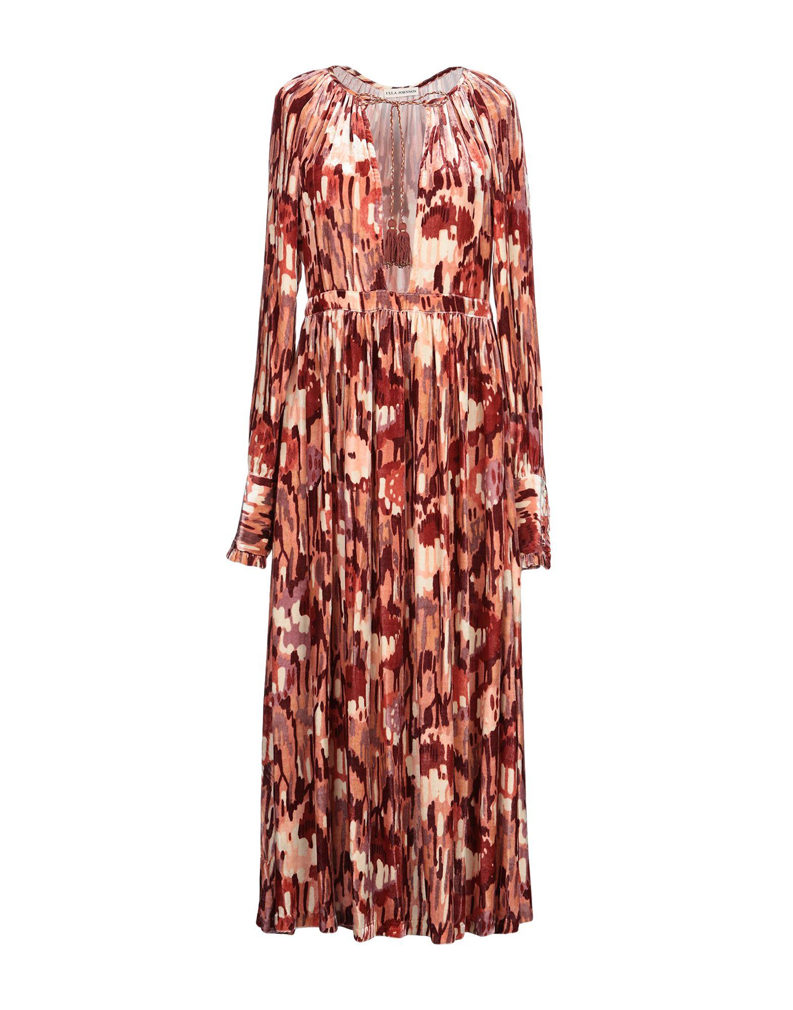 ULLA JOHNSON Платье длиной 3/4 недорго, оригинальная цена