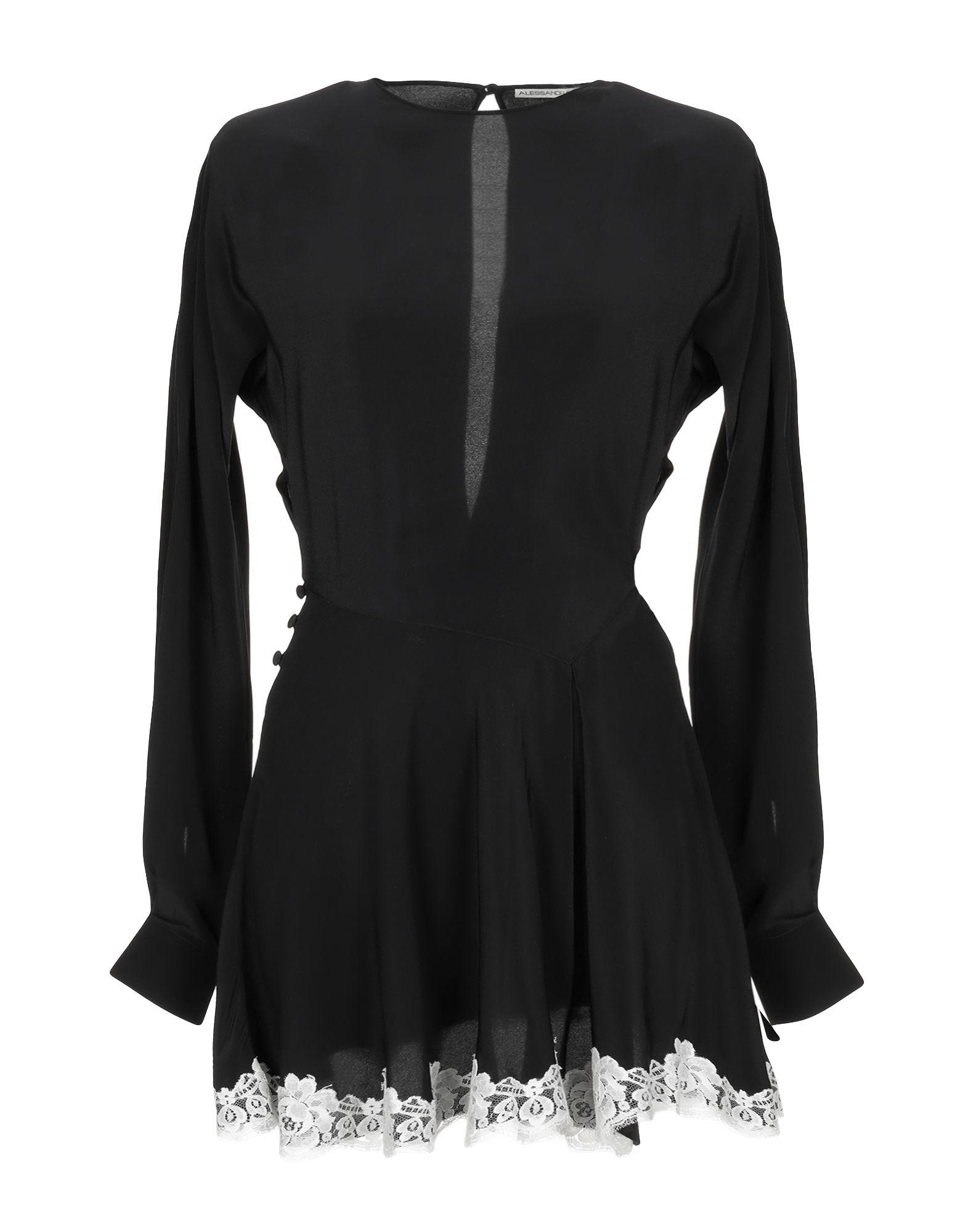 ALESSANDRA RICH Короткое платье alessandra rich юбка длиной 3 4