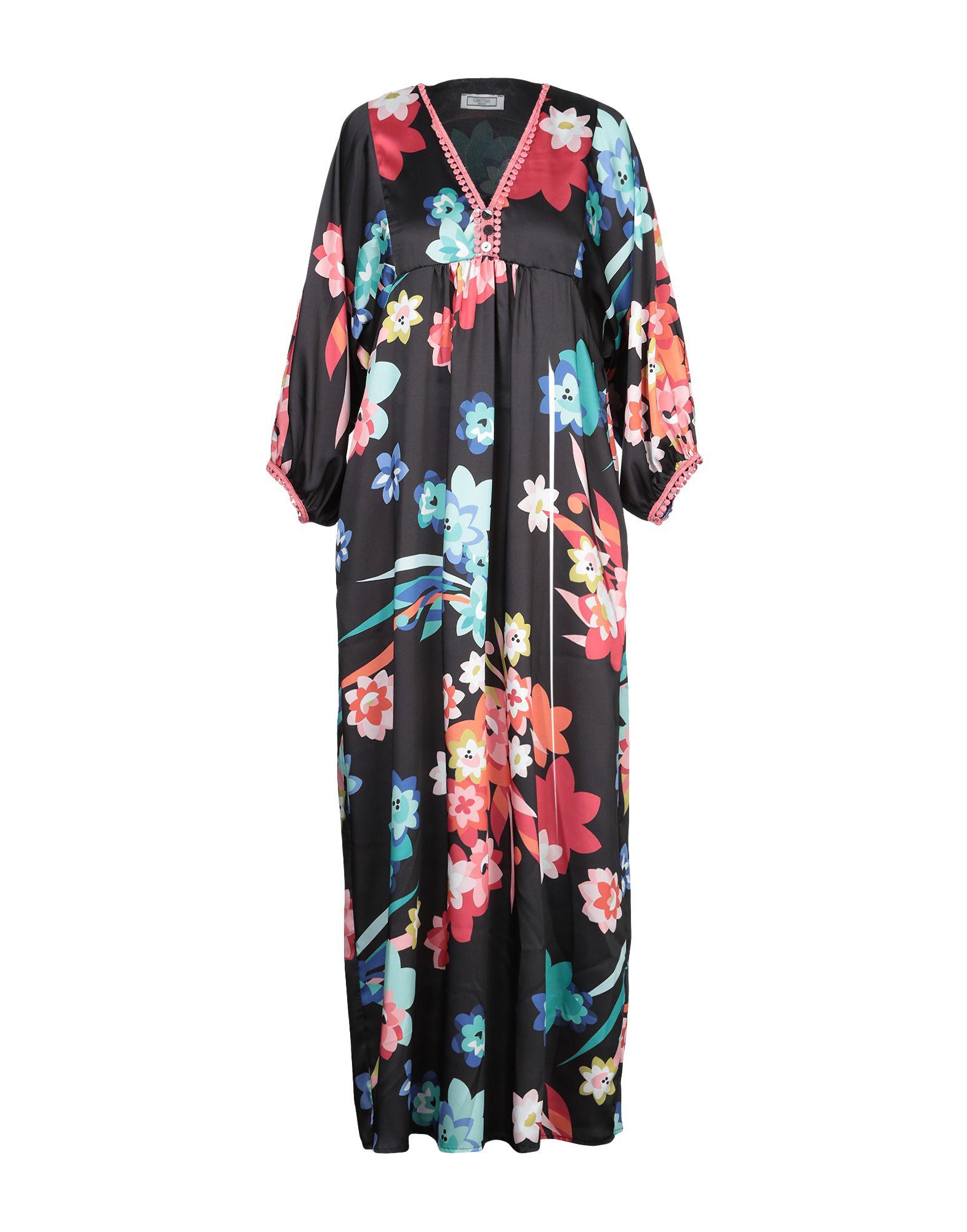 GRETHA Milano Платье длиной 3/4 цена 2017
