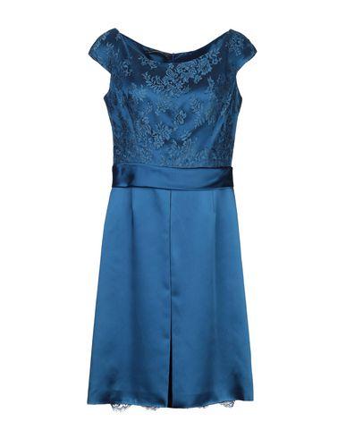 Фото - Женское короткое платье BOTONDI MILANO синего цвета