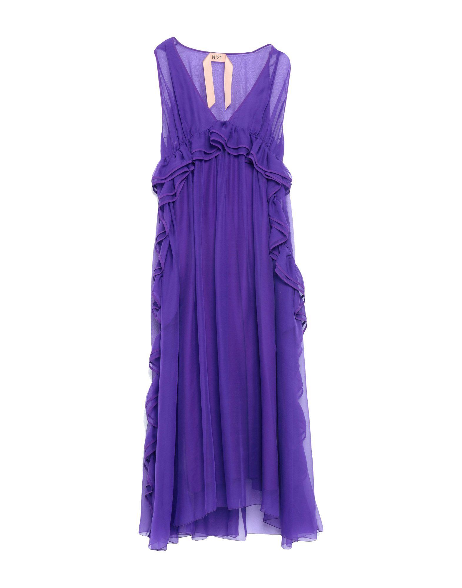 N°21 Платье длиной 3/4 n 21 платье n 21