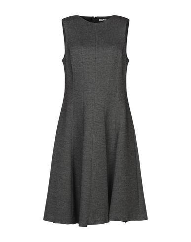 Фото - Платье до колена от BLUKEY свинцово-серого цвета