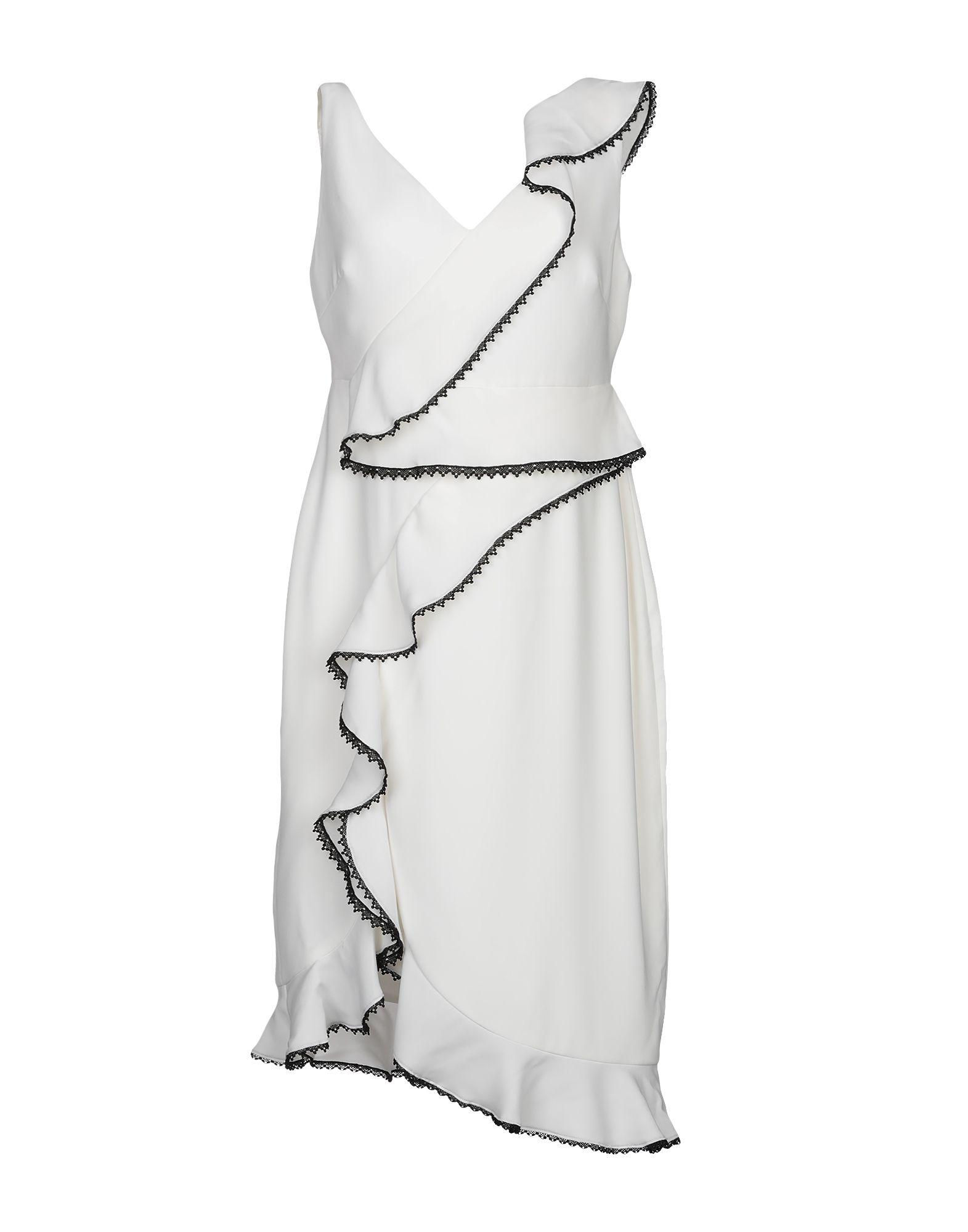THREE FLOOR Платье до колена three dots платье без рукавов