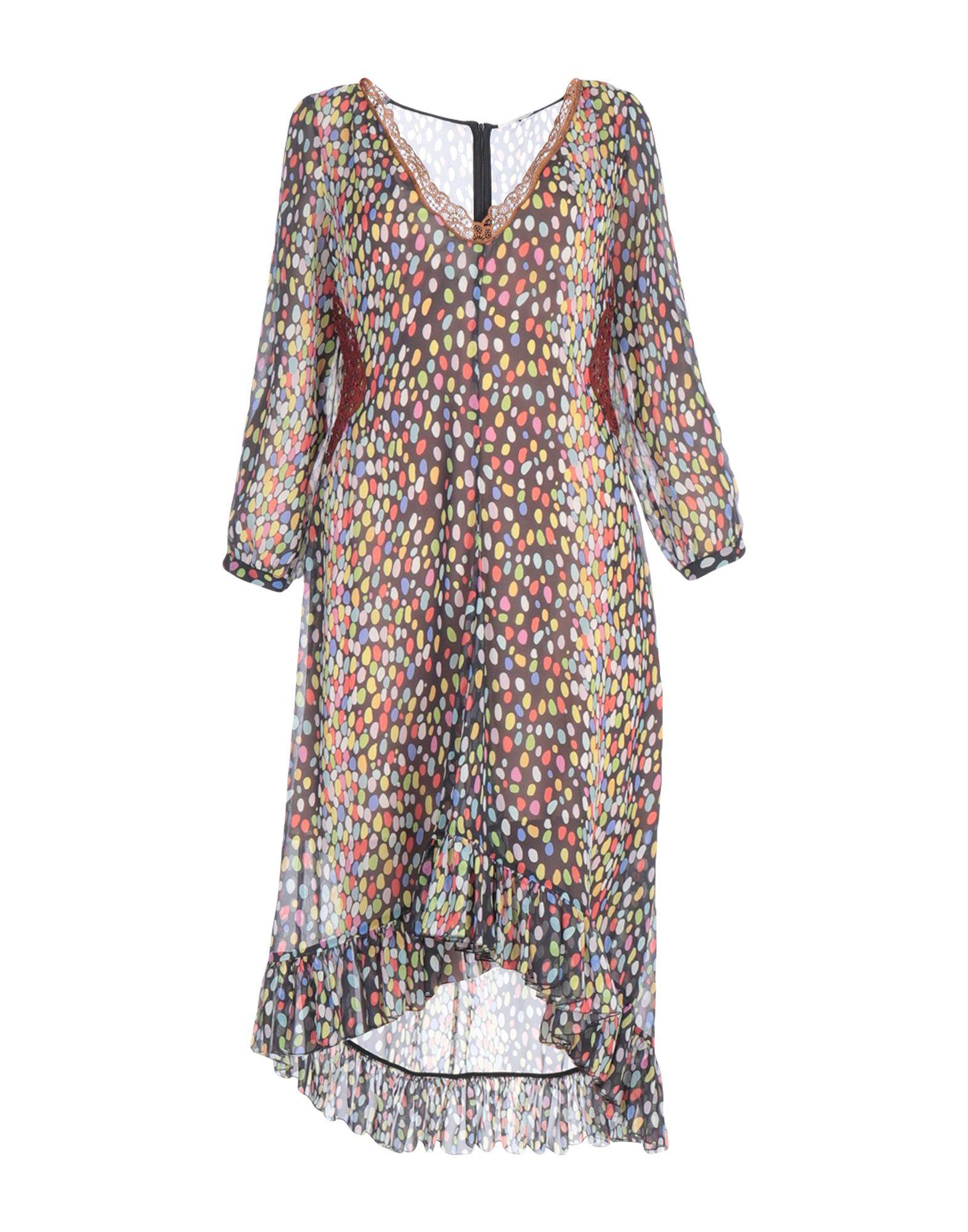 MARCO DE VINCENZO Короткое платье marco de vincenzo длинное платье