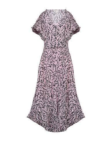 Купить Женское длинное платье  розового цвета