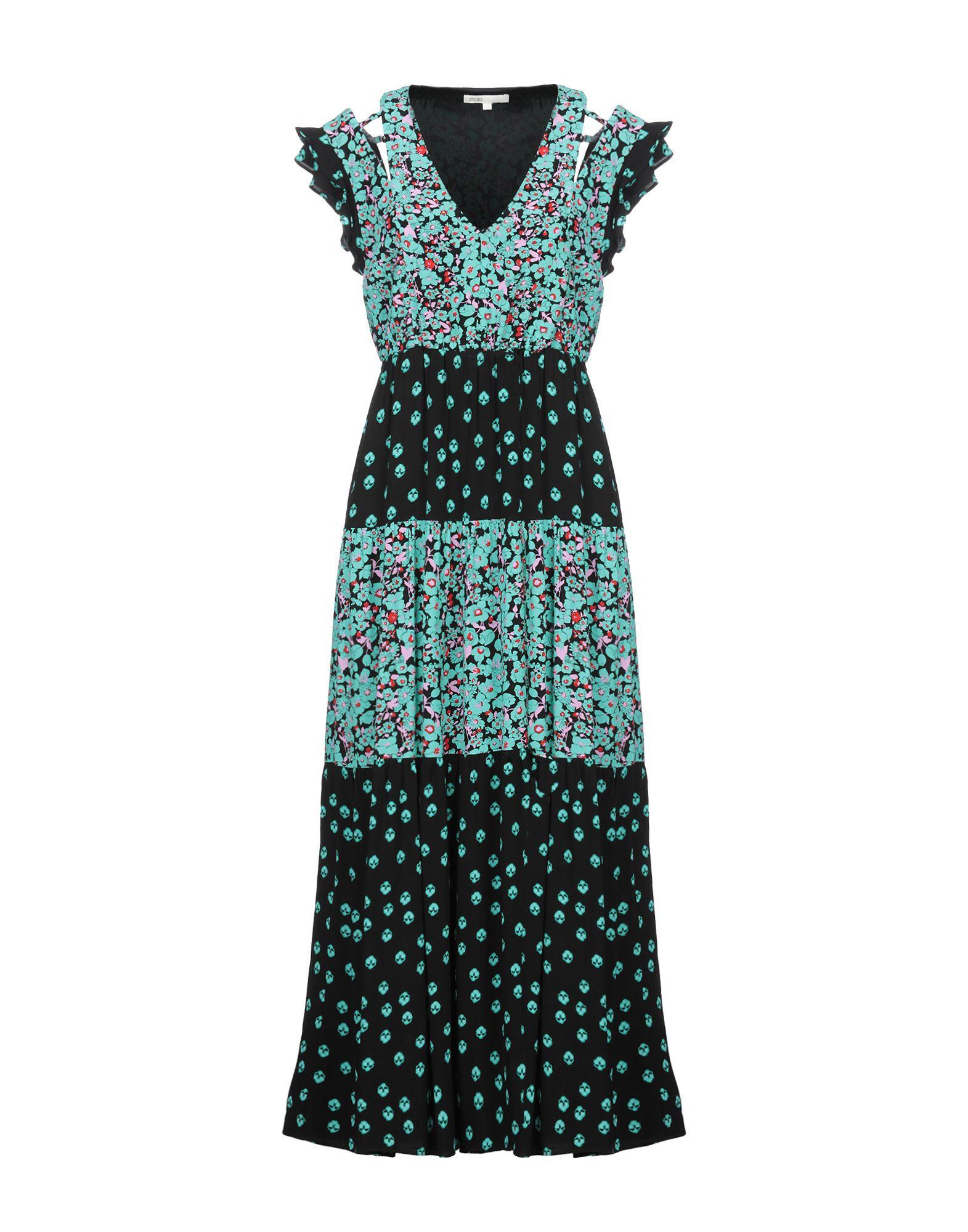 MAJE Длинное платье цена и фото