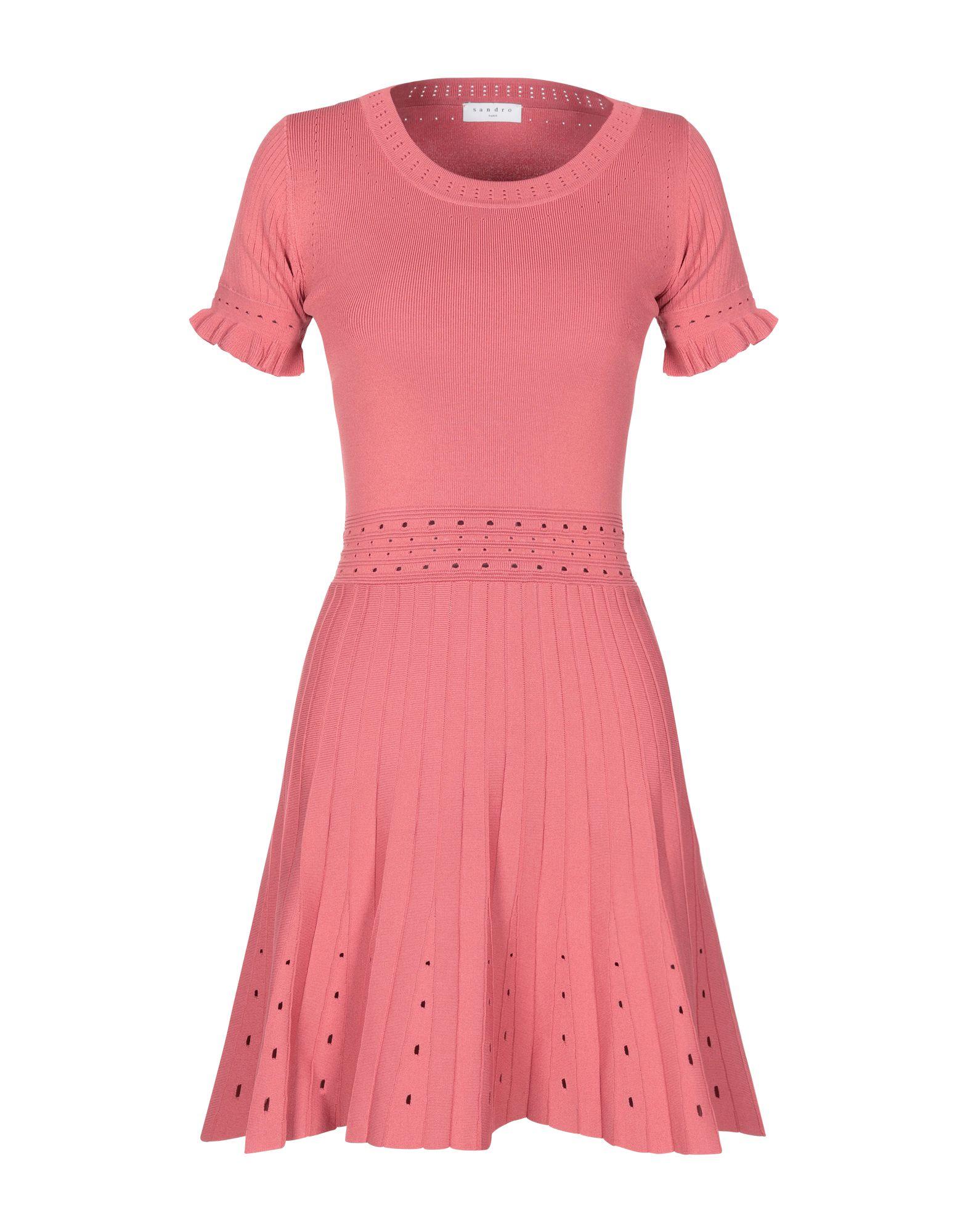 SANDRO Короткое платье sandro paris короткое платье