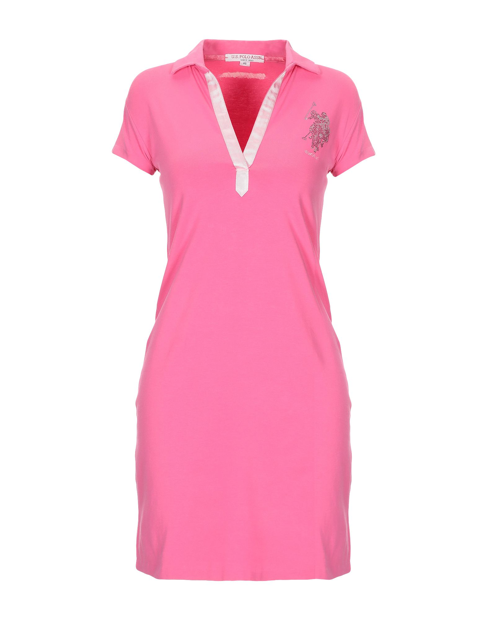 U.S.POLO ASSN. Damen Kurzes Kleid Farbe Fuchsia Größe 3