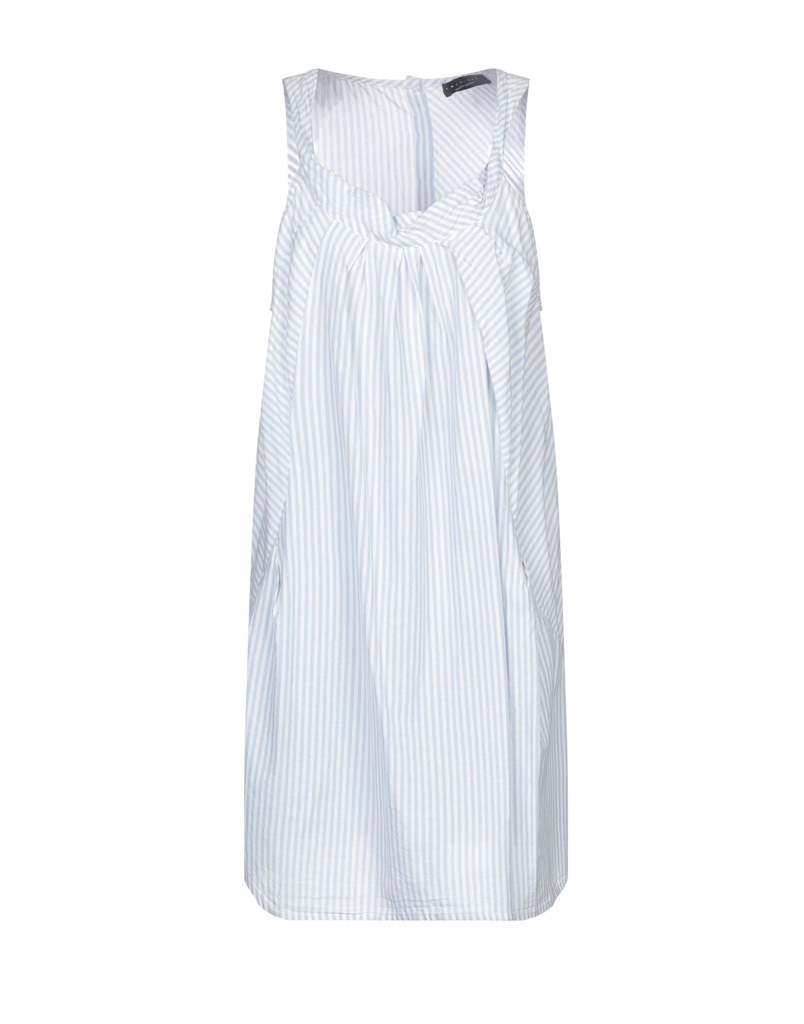 TWINSET Короткое платье платье рубашка fox yulia sway платье рубашка fox