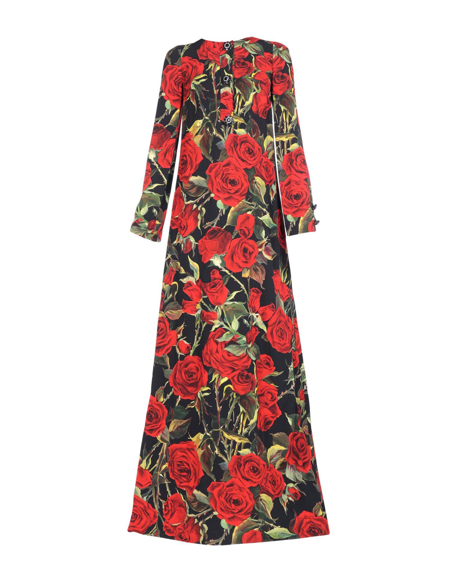 купить DOLCE & GABBANA Длинное платье по цене 59150 рублей