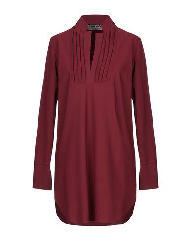 Фото - Женскую блузку CHIARA BONI LA PETITE ROBE красно-коричневого цвета