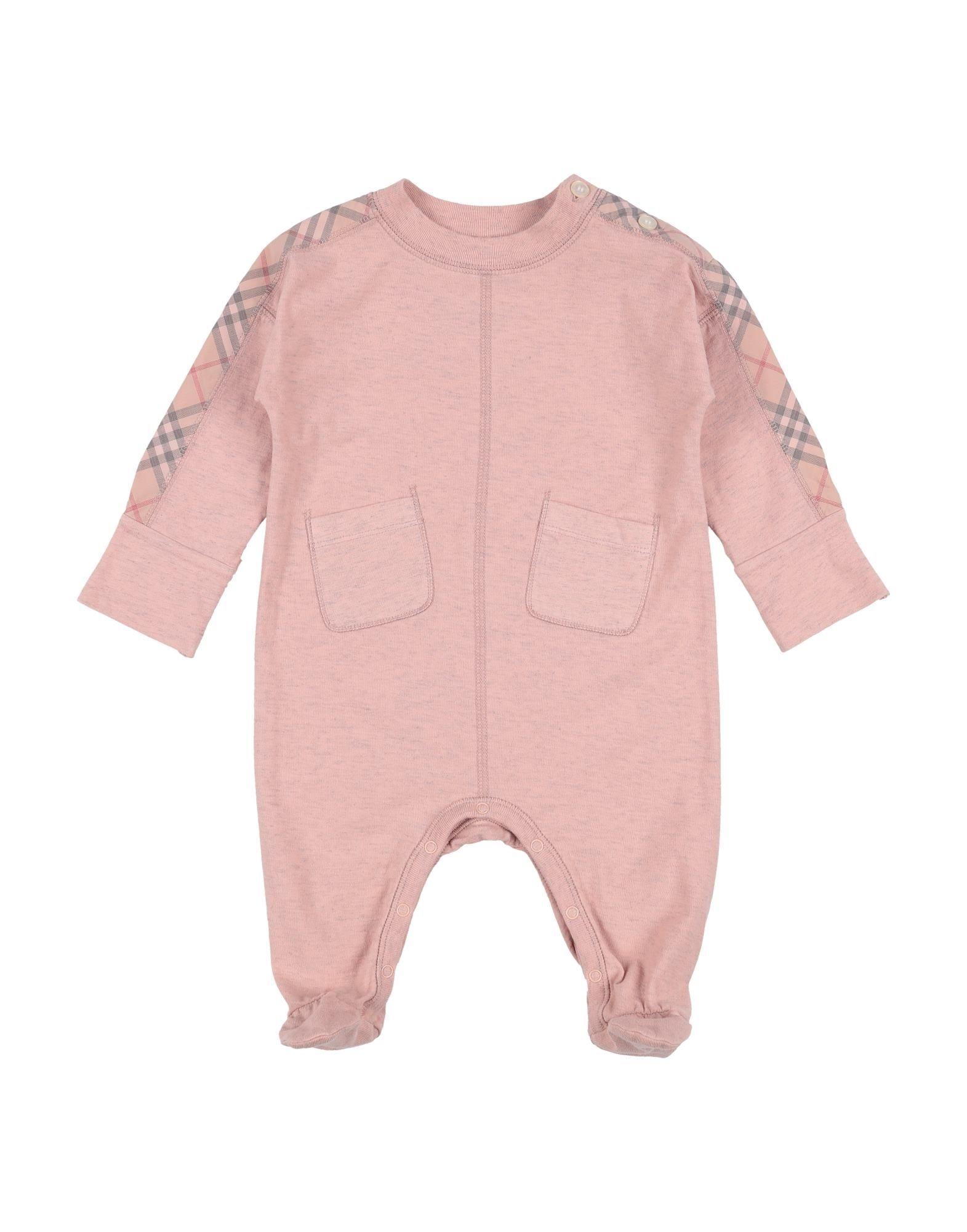 7b3a1c1f1635a 《期間限定セール中》BURBERRY ガールズ 0-24 ヶ月 乳幼児用ロンパース パステル