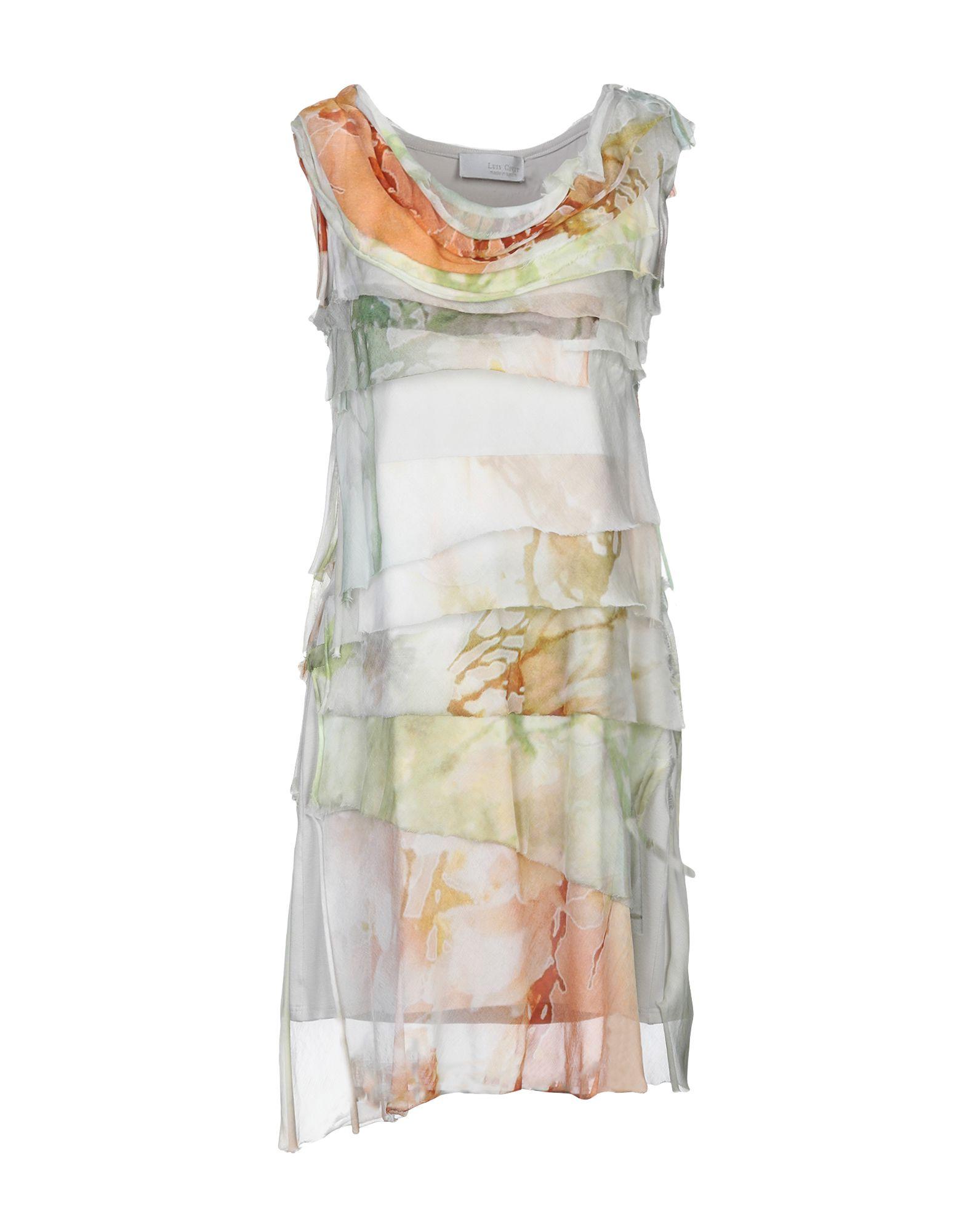 LUIS CIVIT Короткое платье