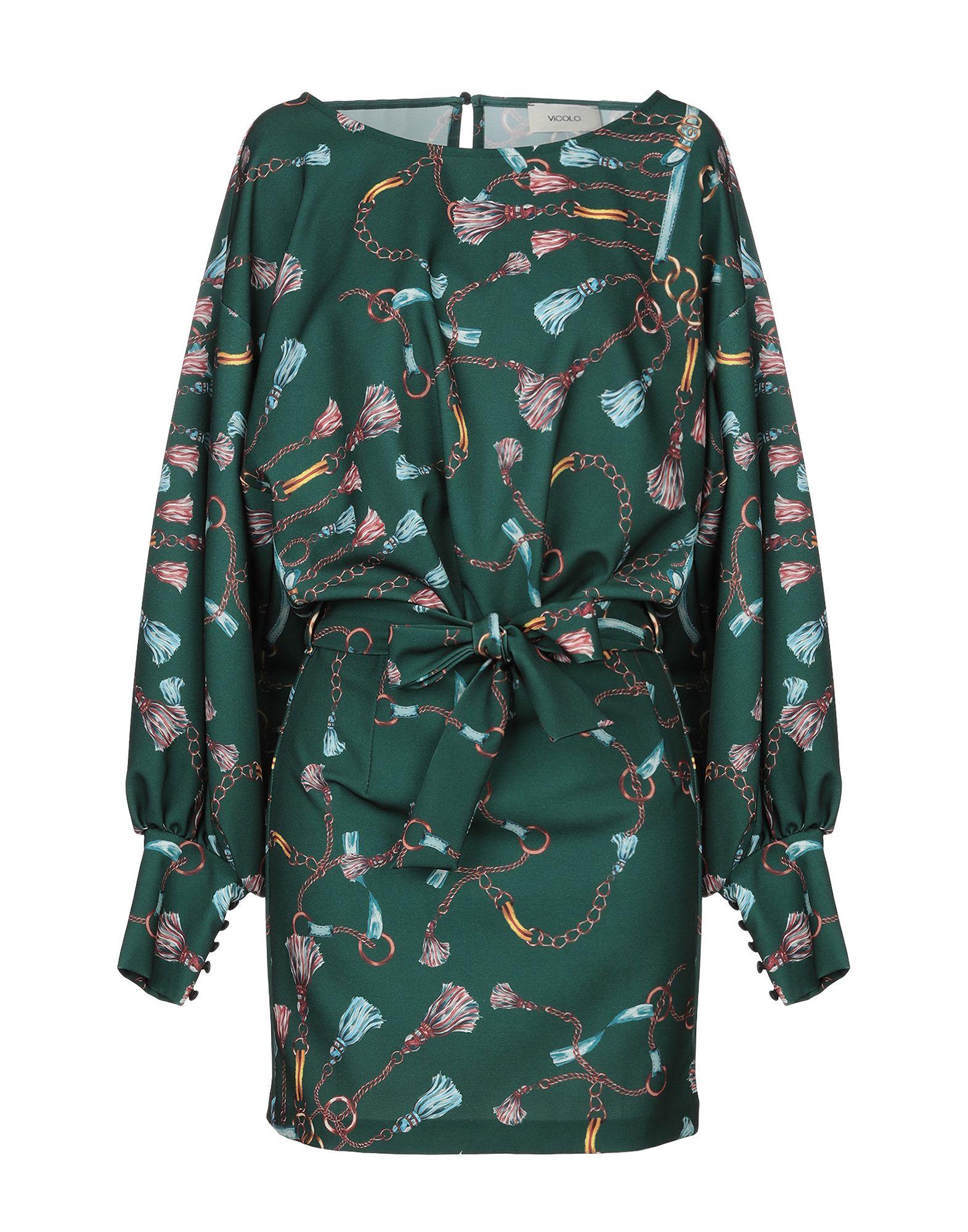 VICOLO Короткое платье vicolo короткое платье