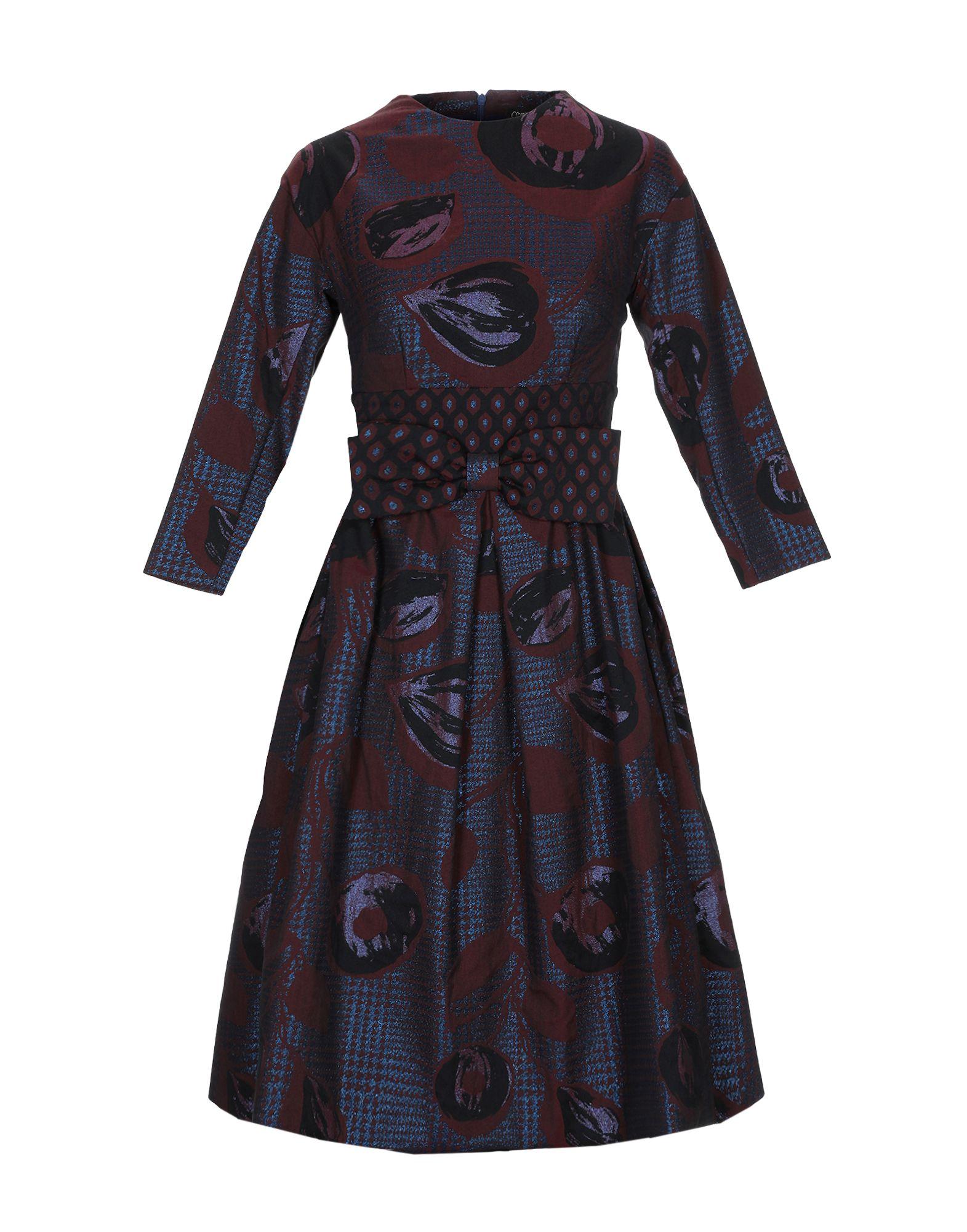 mariagrazia panizzi юбка длиной 3 4 MARIAGRAZIA PANIZZI Короткое платье
