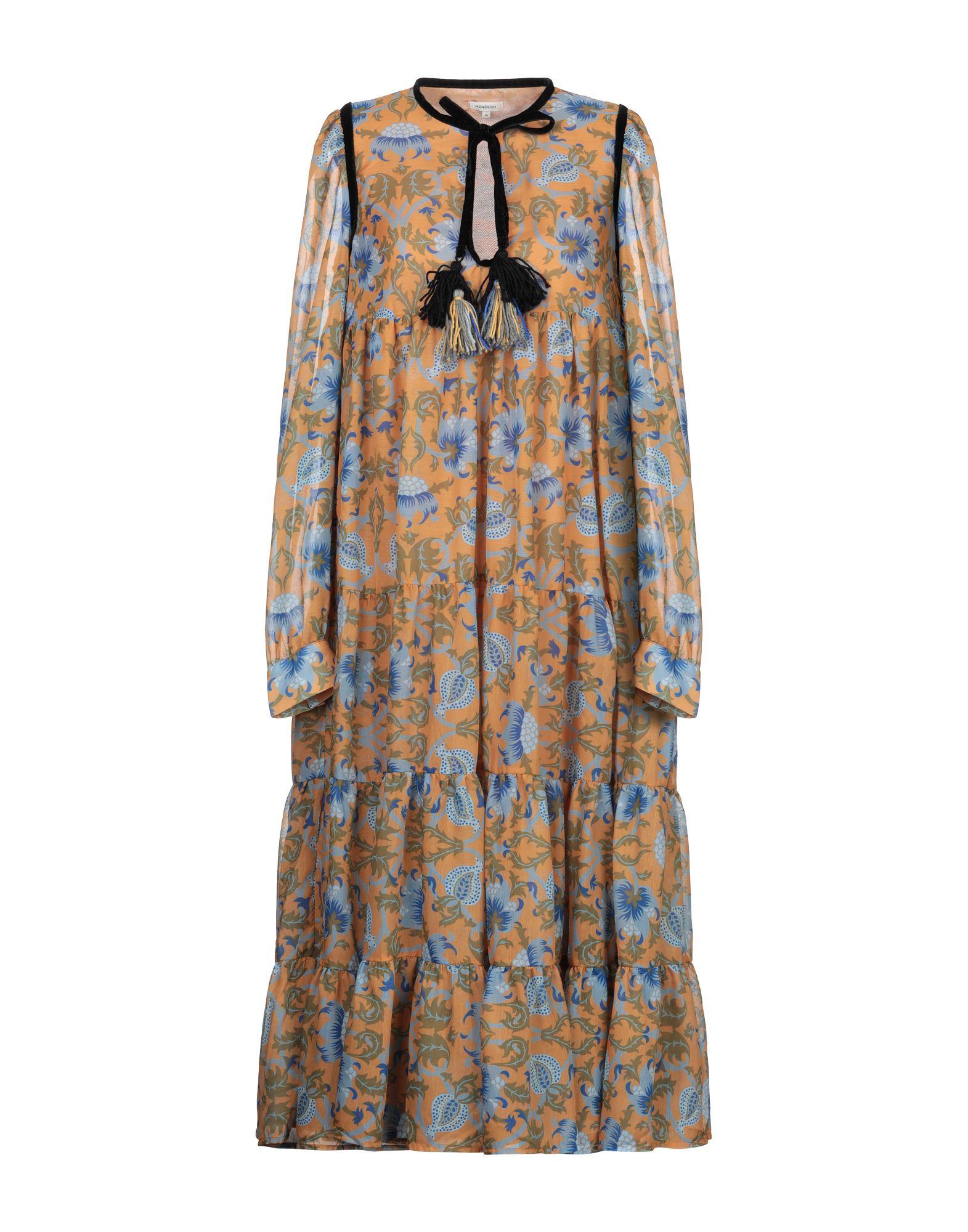 MANOUSH Платье длиной 3/4 цена 2017