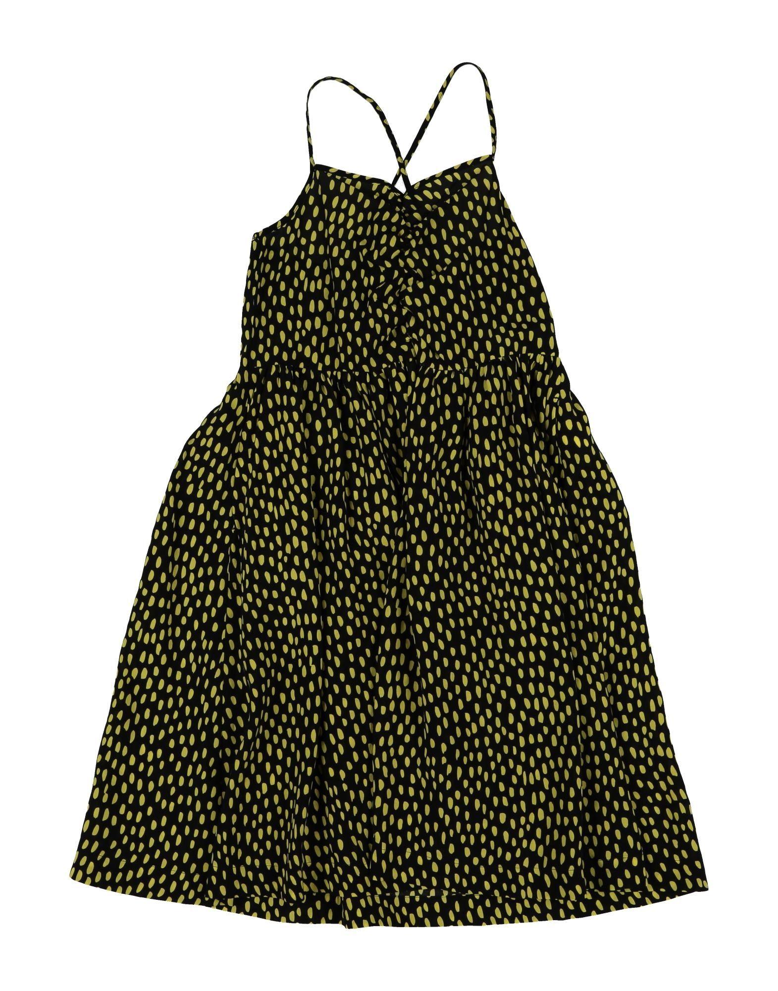 《セール開催中》STELLA McCARTNEY KIDS ガールズ 3-8 歳 ワンピース&ドレス ブラック 4 レーヨン 55% / キュプラ 45%