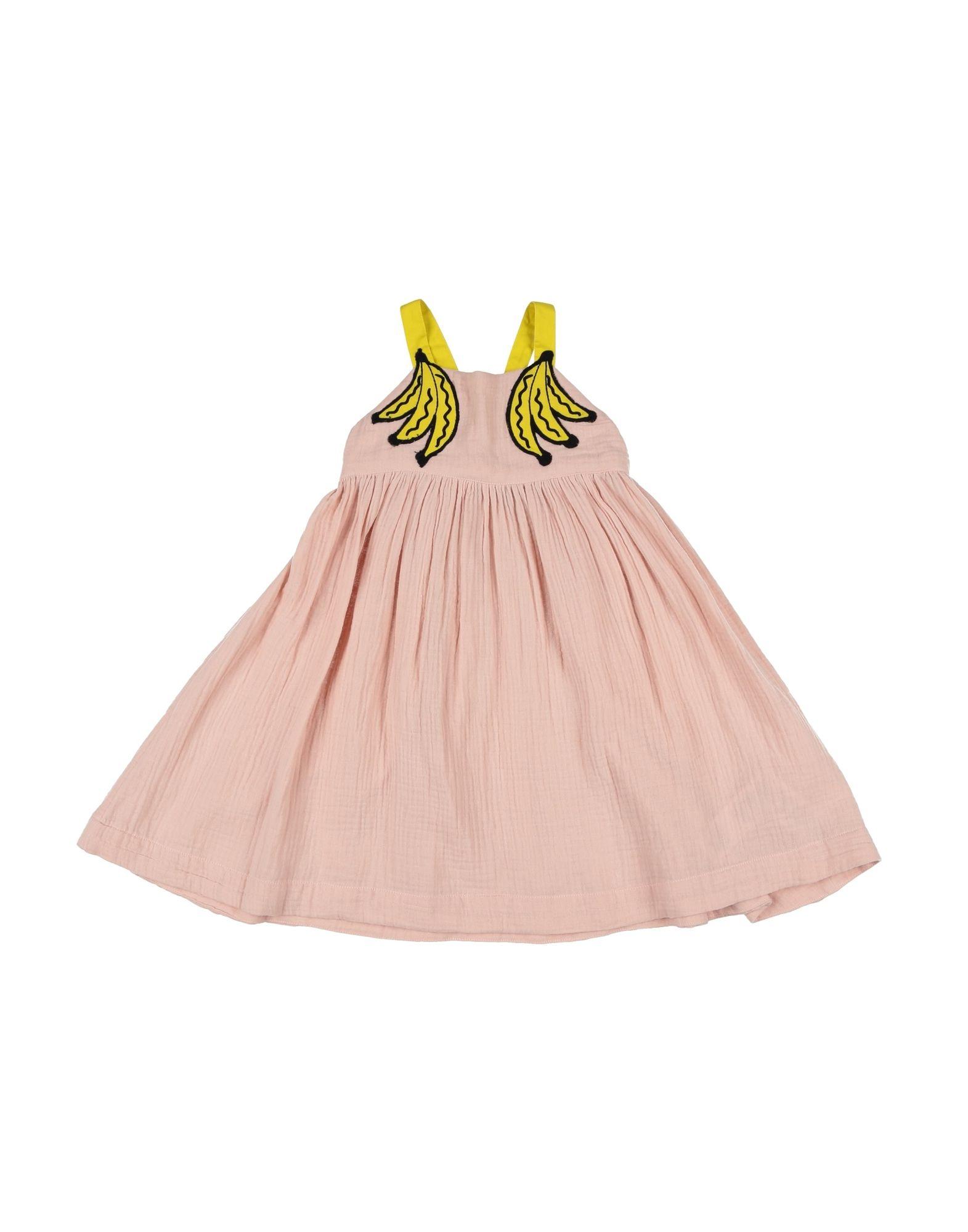 《セール開催中》STELLA McCARTNEY KIDS ガールズ 3-8 歳 ワンピース&ドレス ピンク 3 コットン 100% / ポリエステル