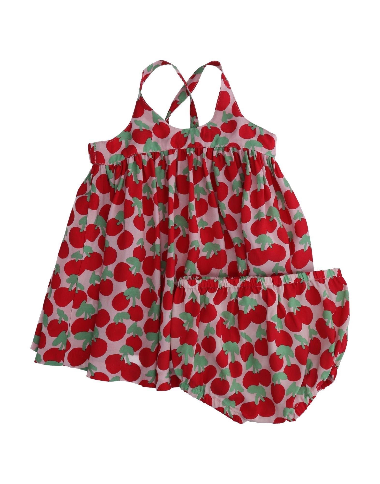 《セール開催中》STELLA McCARTNEY KIDS ガールズ 0-24 ヶ月 ワンピース・ドレス レッド 3 レーヨン 55% / キュプラ 45%